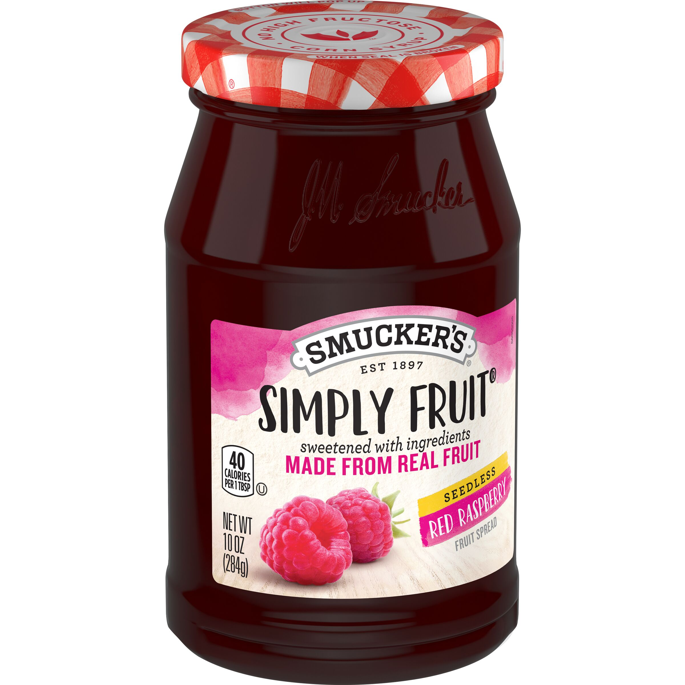 Smucker's Simply Fruit Seedless Red Raspberry Spreadable Fruit