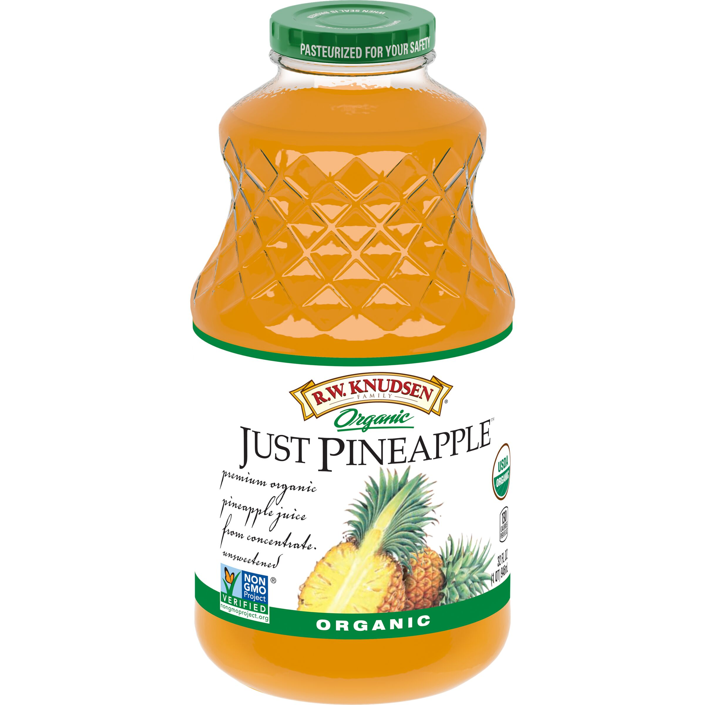 R.W. Knudsen Family  Organic Just Pineapple™ Juice