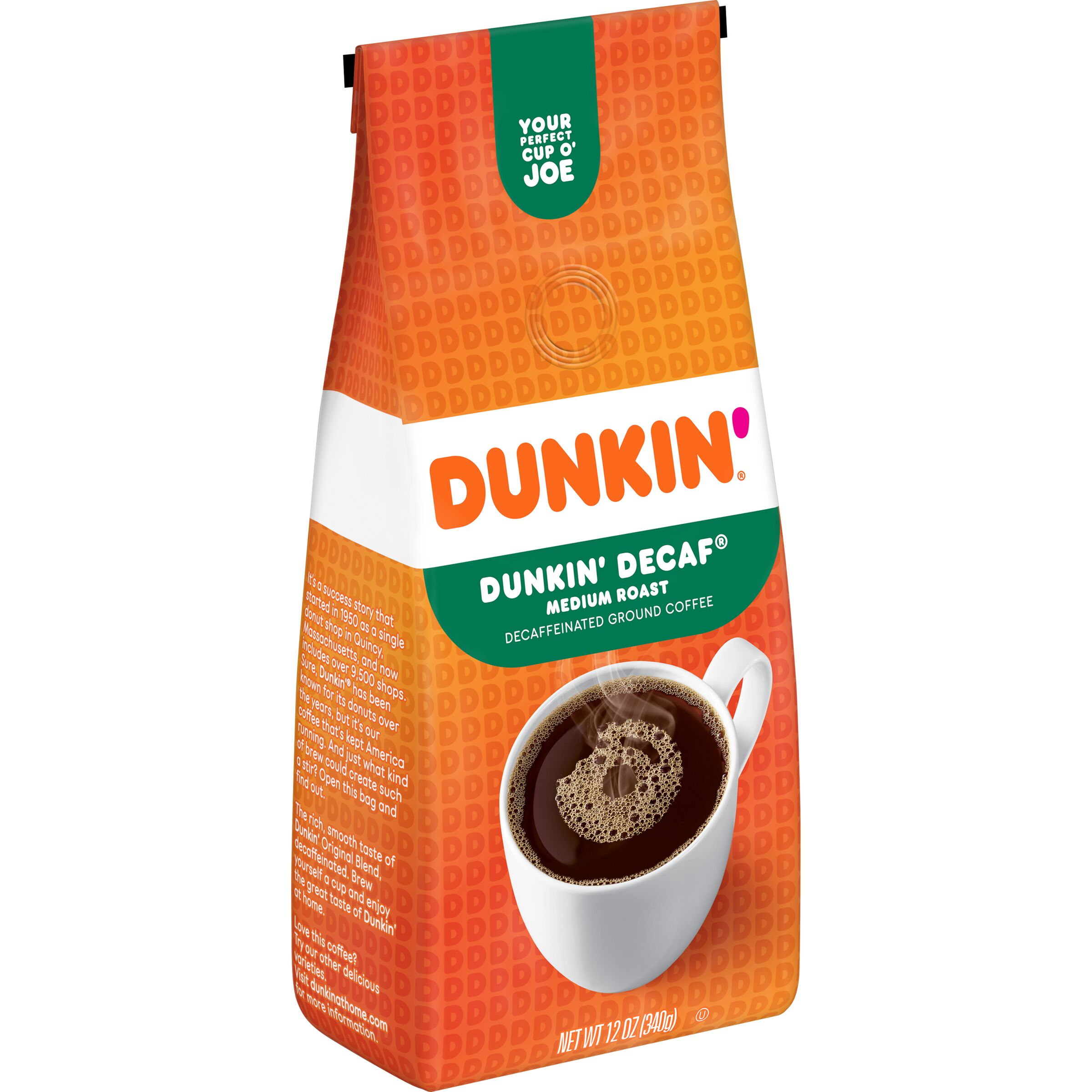 Dunkin'<sup>®</sup>  Dunkin' Decaf® Coffee