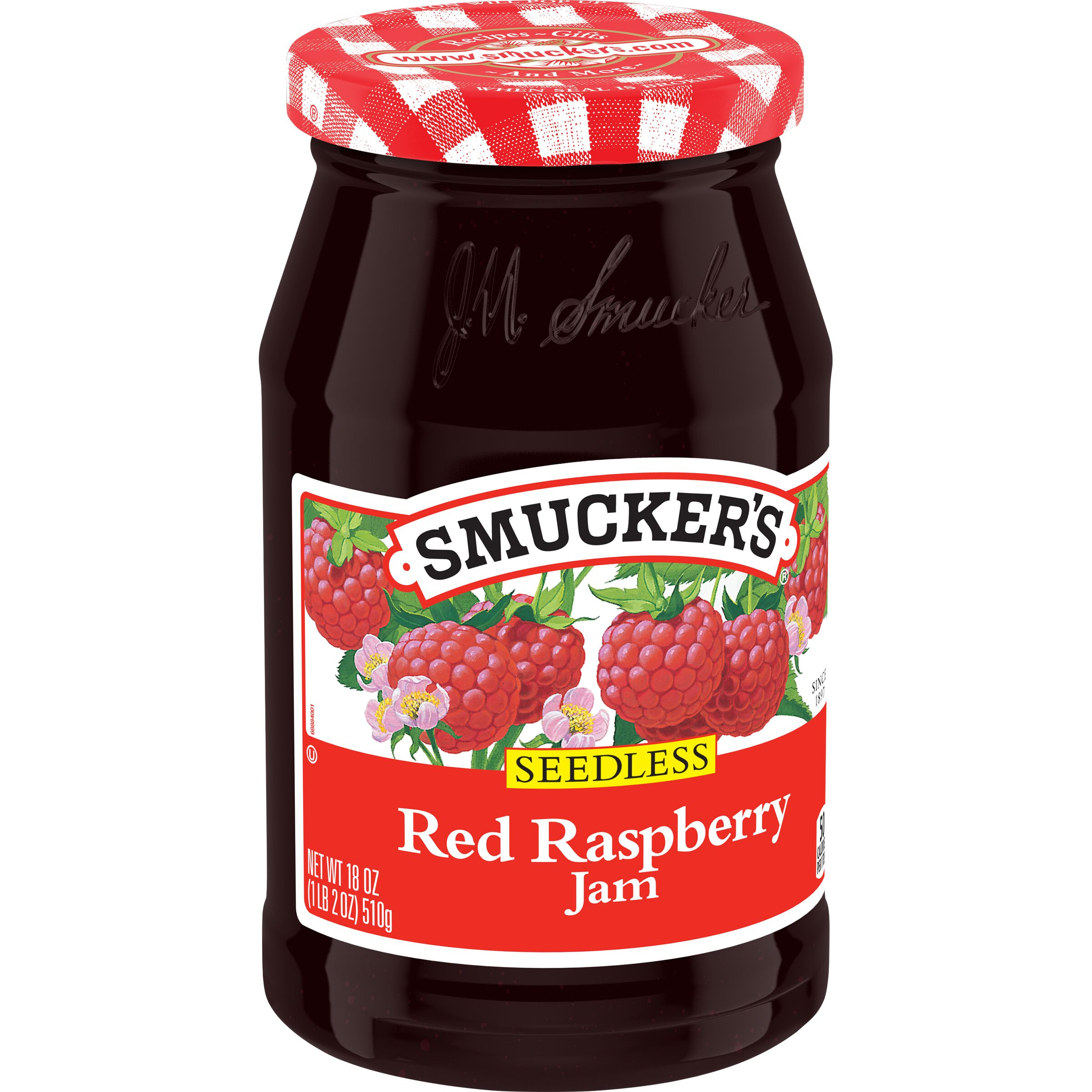 Smucker's<sup>®</sup>  Seedless Red Raspberry Jam