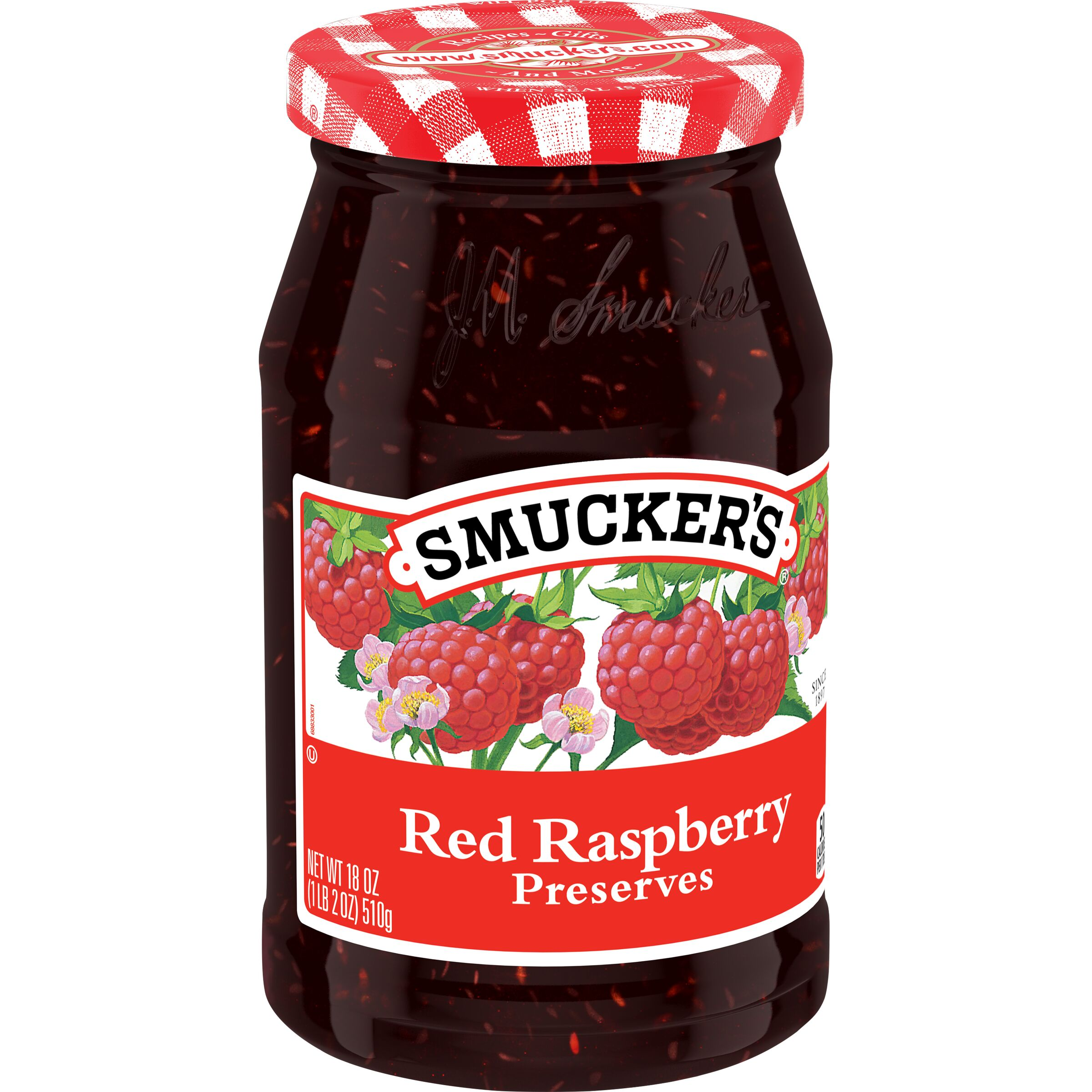 Smucker's  Smucker's Red Raspberry Preserves