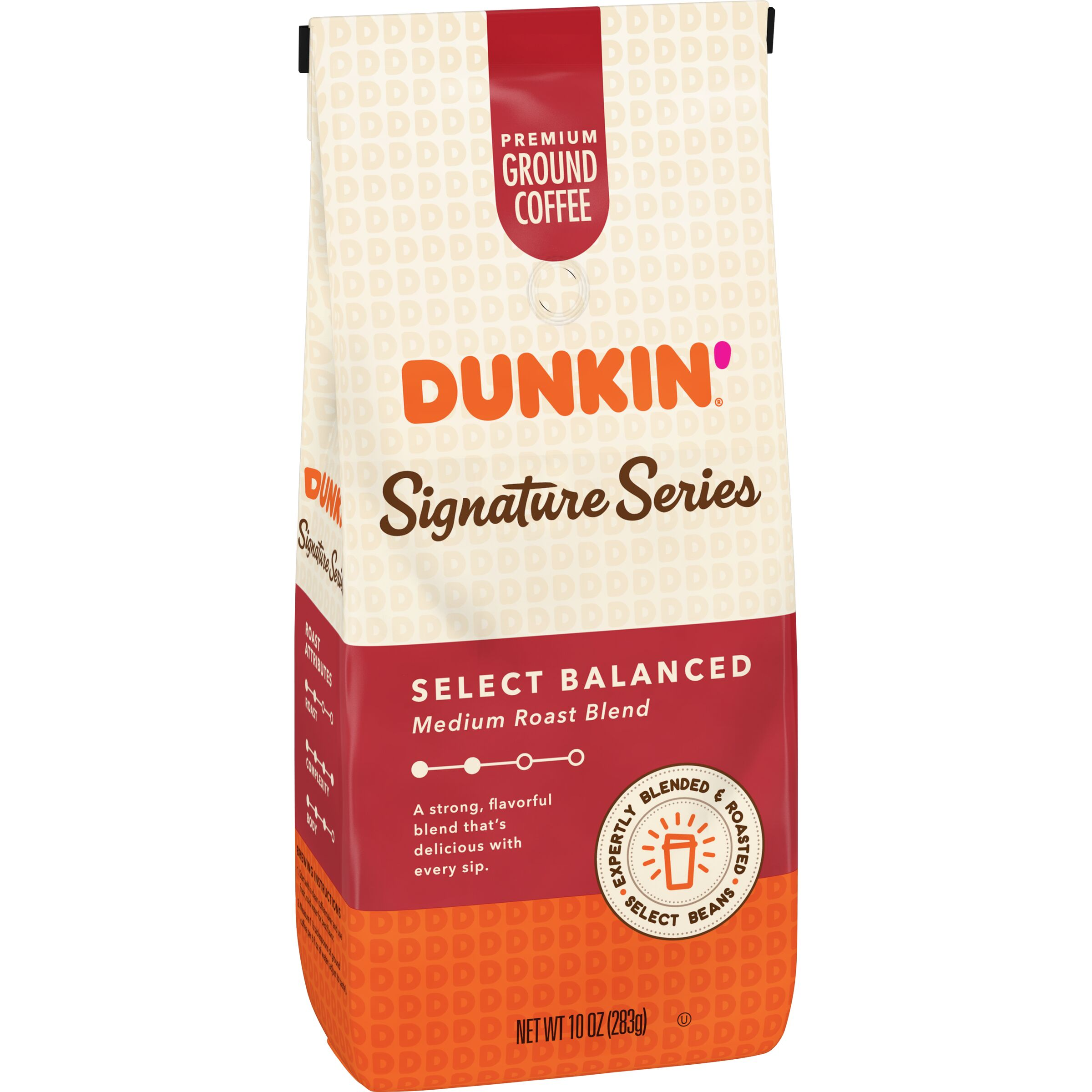 Dunkin'<sup>®</sup> Signature Series Select Balanced Coffee