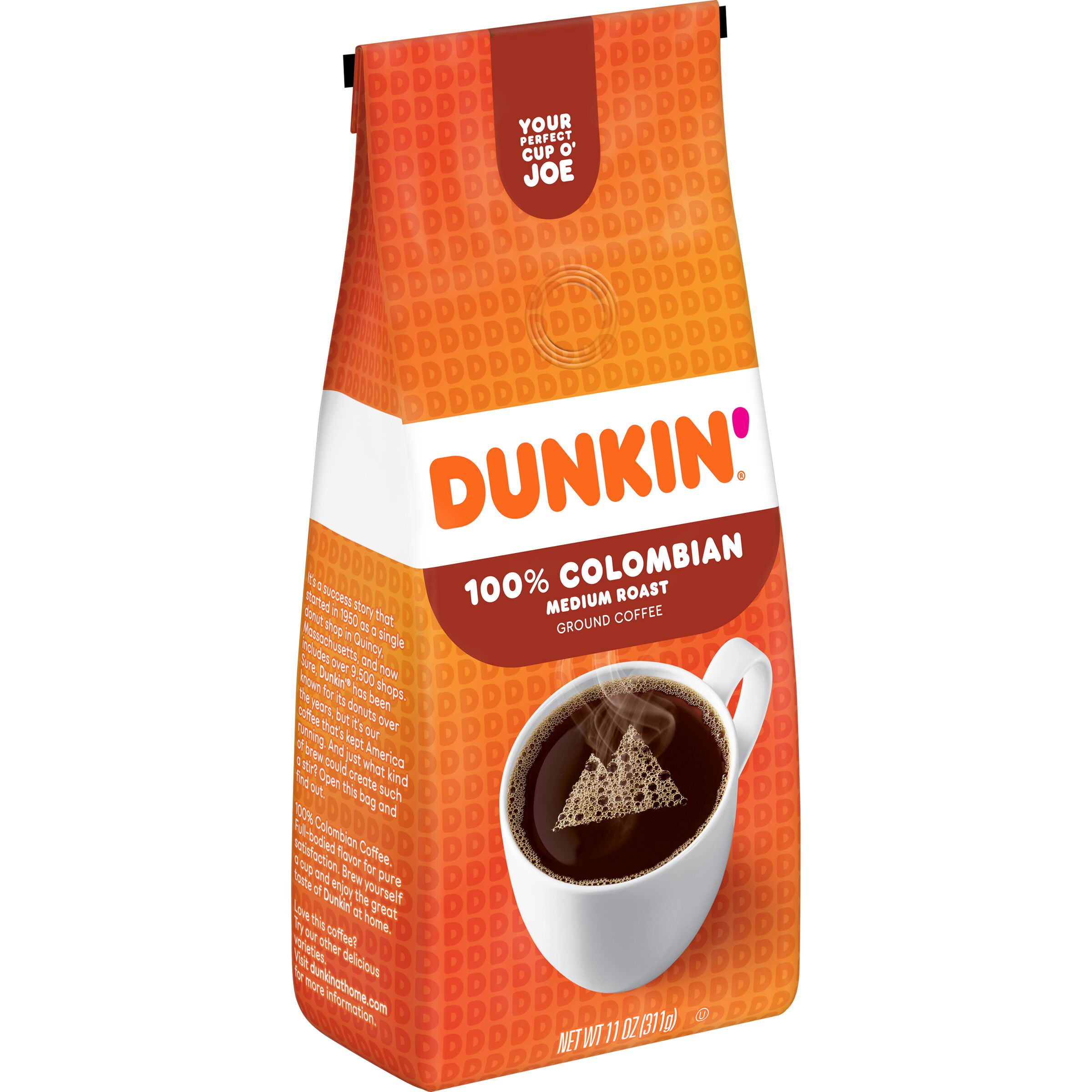 Dunkin'  100% Colombian Coffee