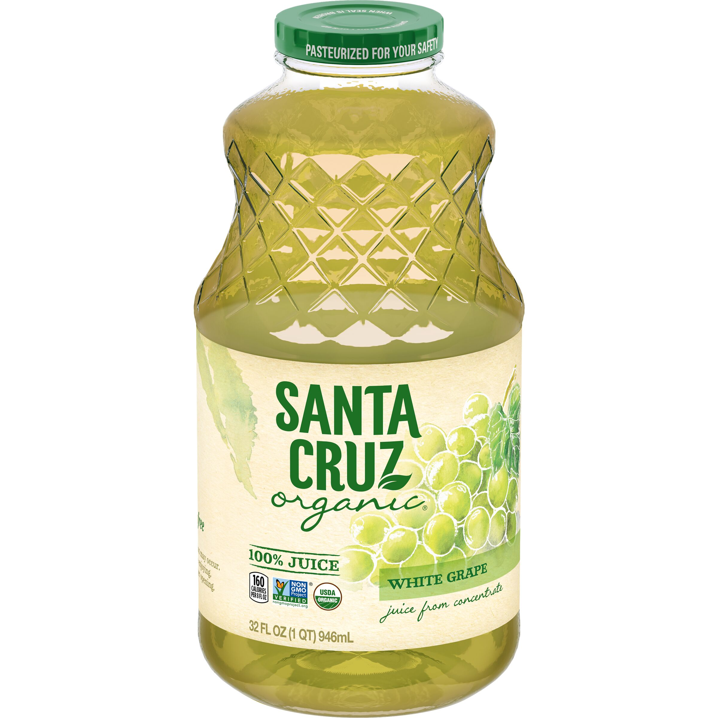 Santa Cruz Organic  White Grape Juice