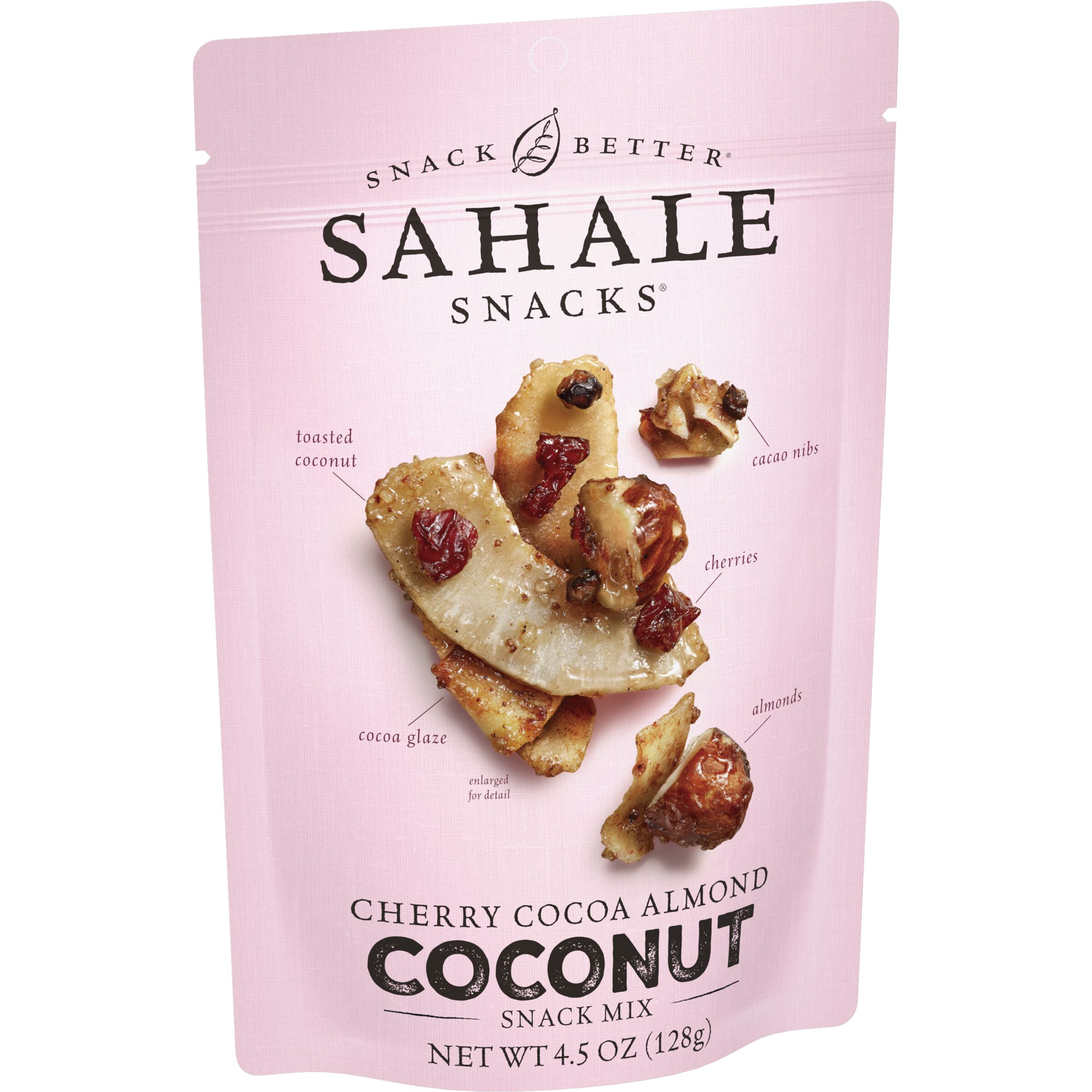 Sahale Snacks  Cherry Cocoa Almond Coconut Snack Mix