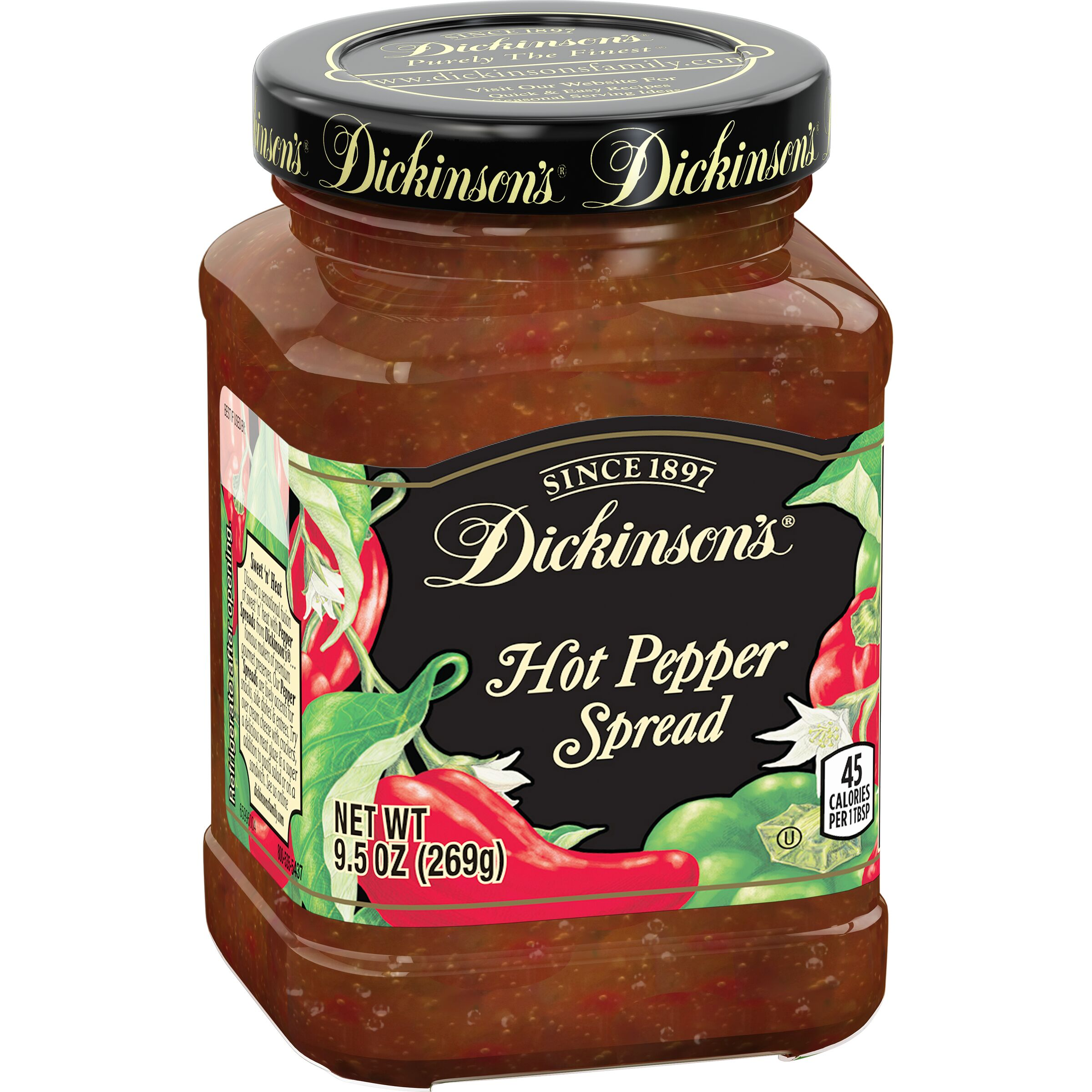 Dickinson's<sup>®</sup>  Hot Pepper Spread