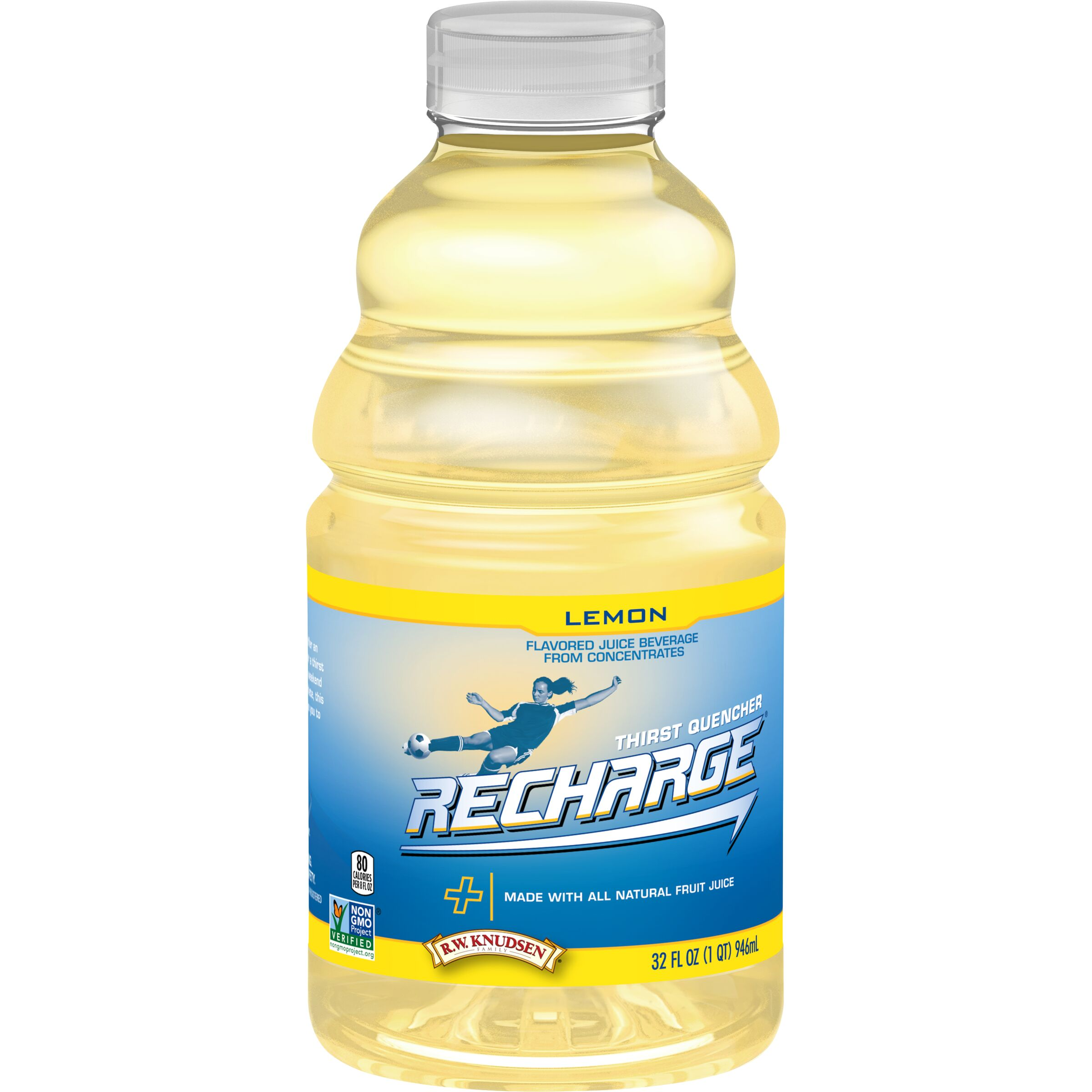R.W. Knudsen Family<sup>®</sup> Recharge Lemon Sports Drink