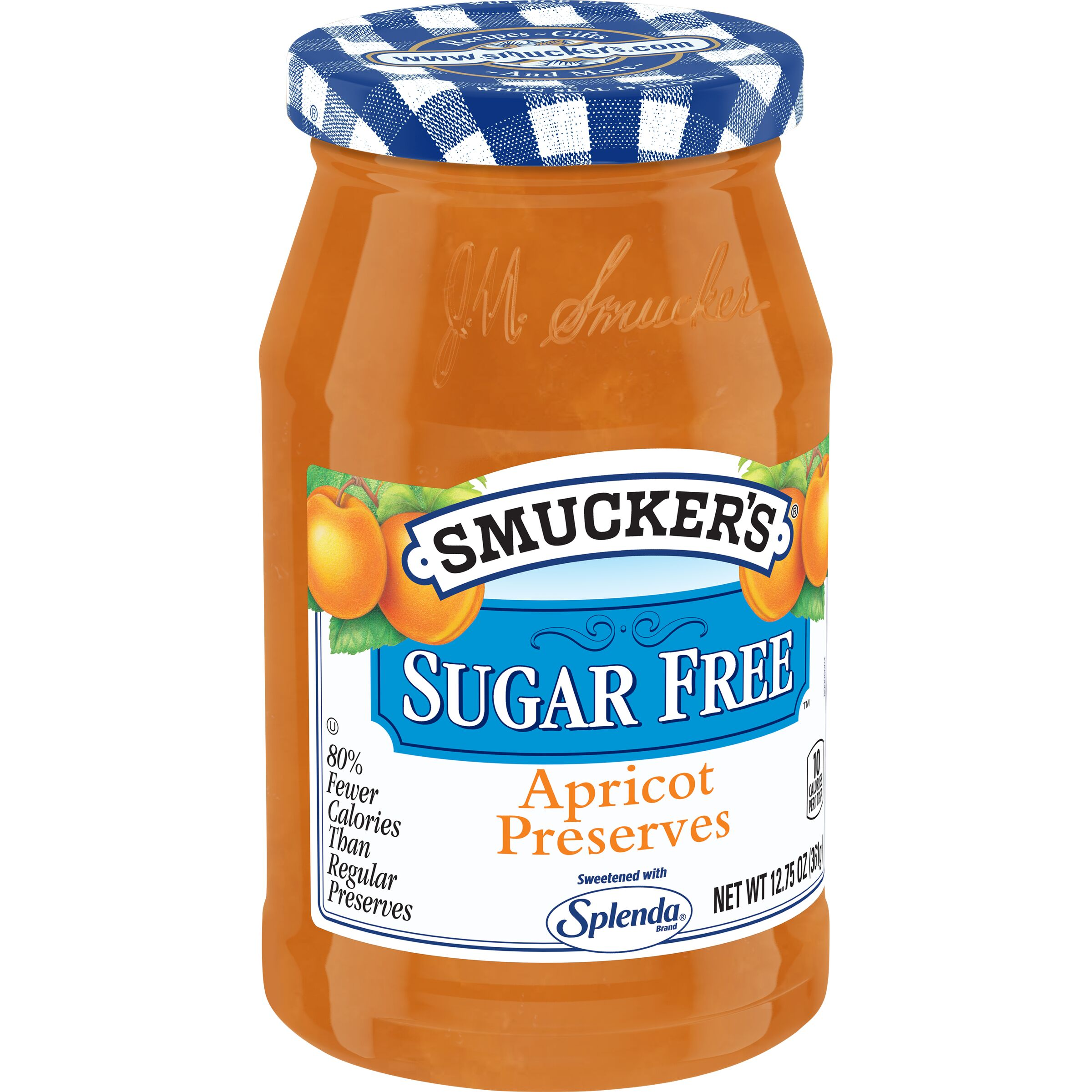 Smucker's<sup>®</sup> Sugar Free Apricot Preserves with Splenda Brand Sweetener
