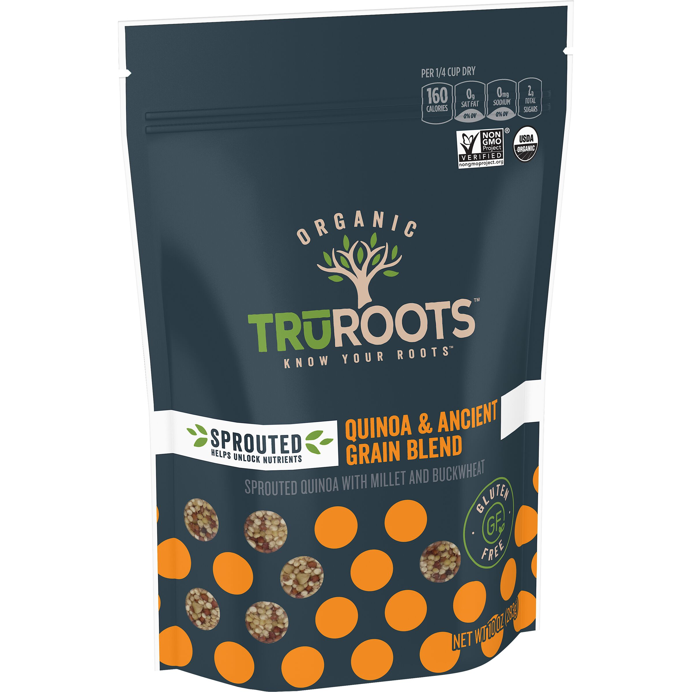 truRoots  Sprouted Quinoa & Ancient Grain Medley