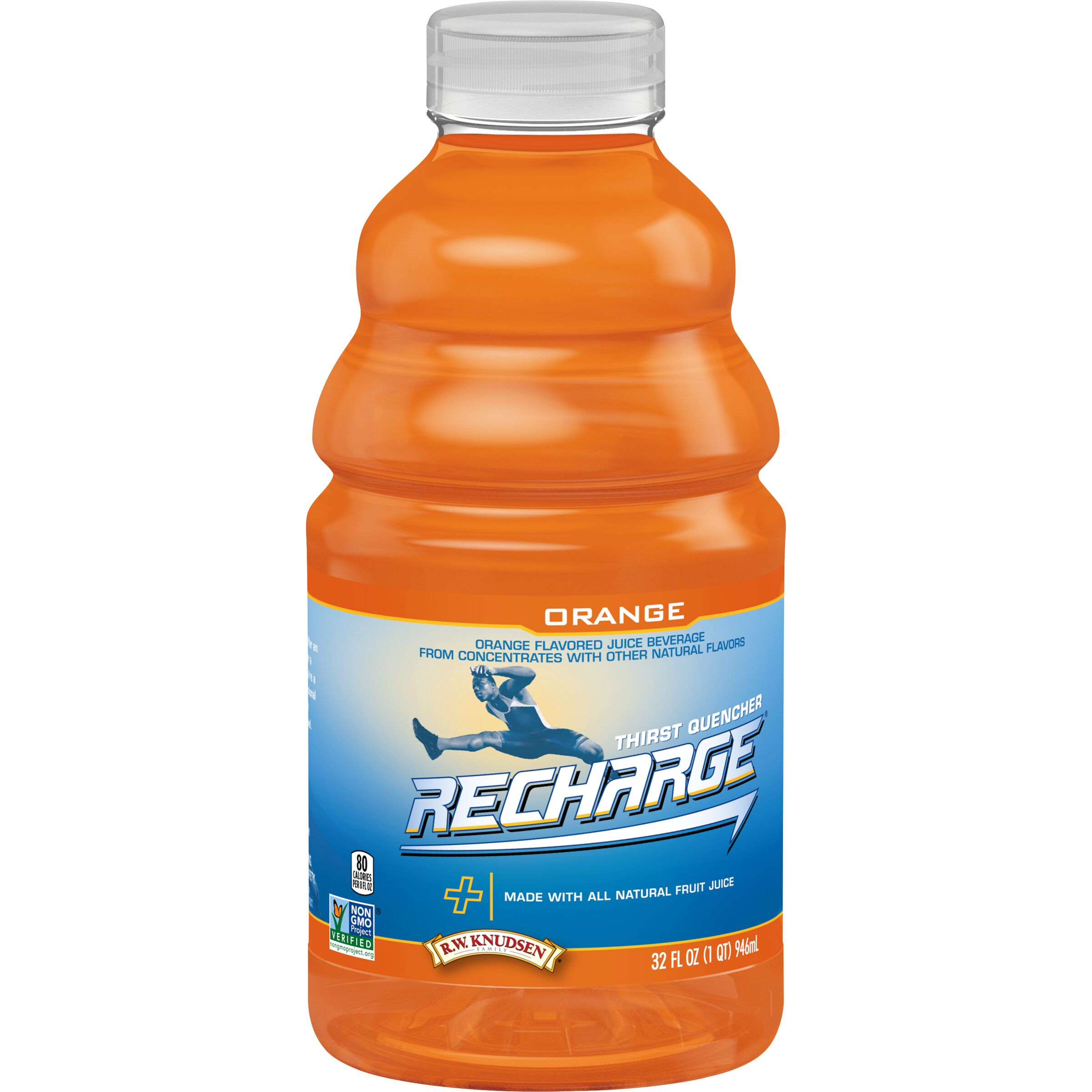R.W. Knudsen Family Recharge Orange Sports Drink
