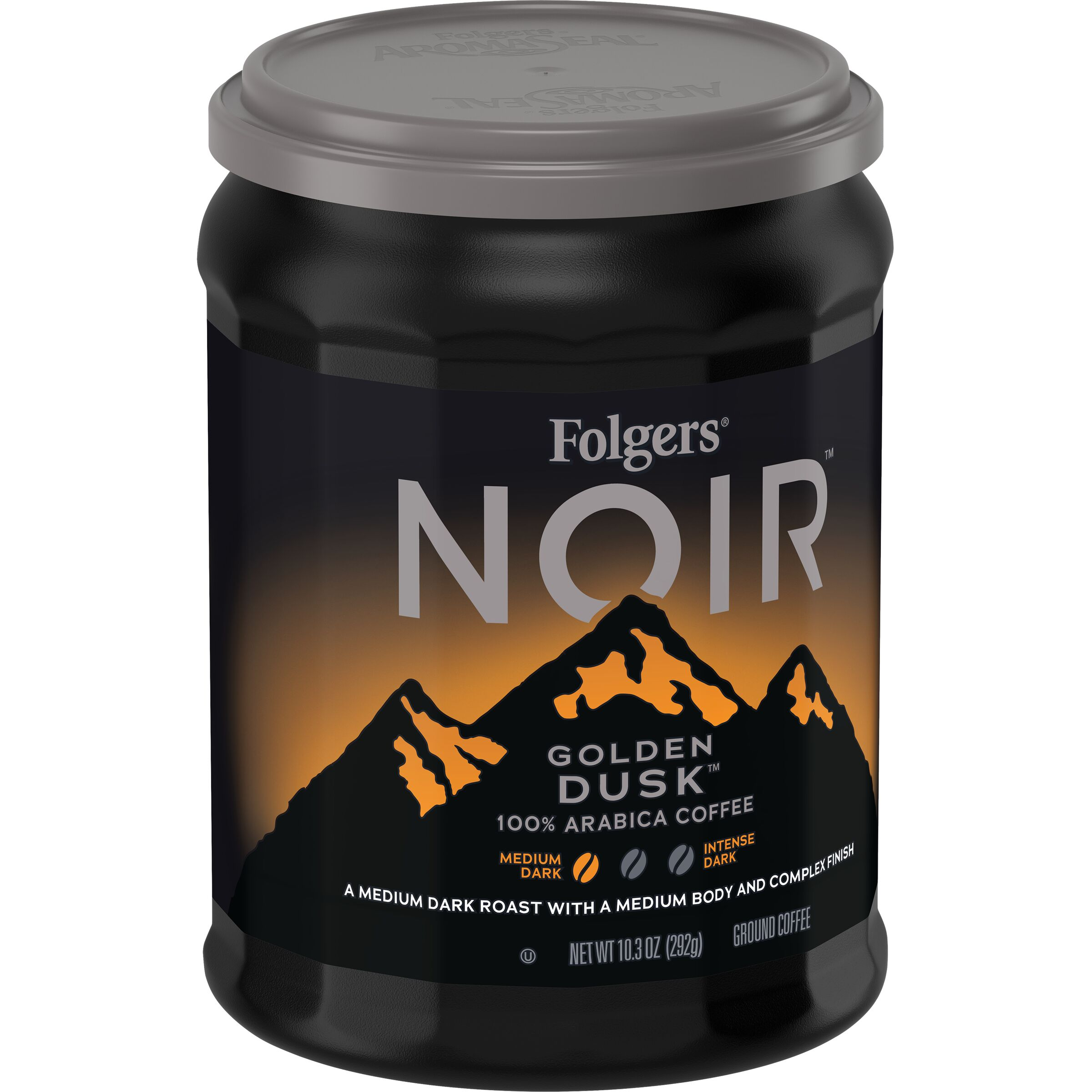 Folgers<sup>®</sup> Noir Golden Dusk™ Ground Coffee