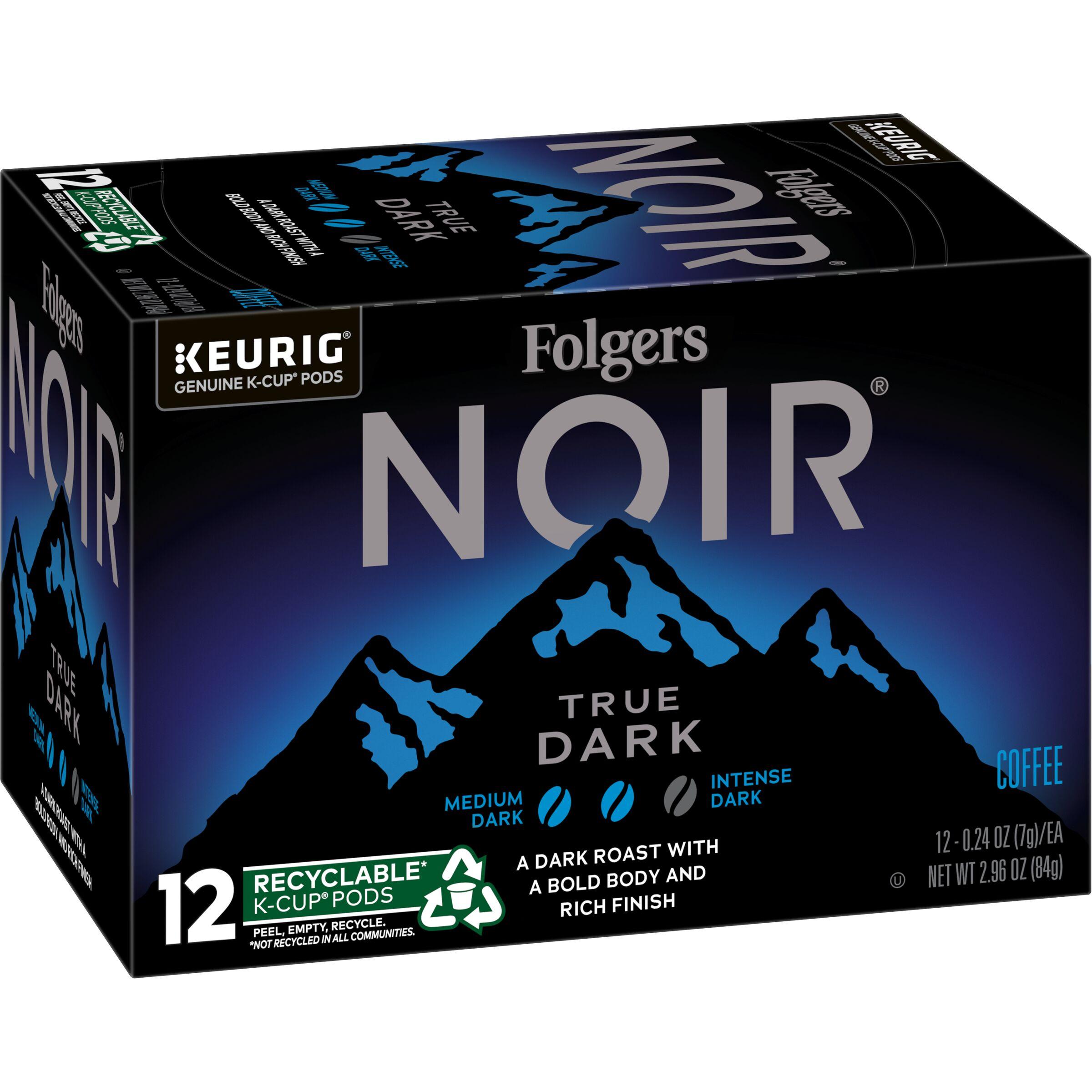 Folgers Noir True Dark K-Cup® Pods