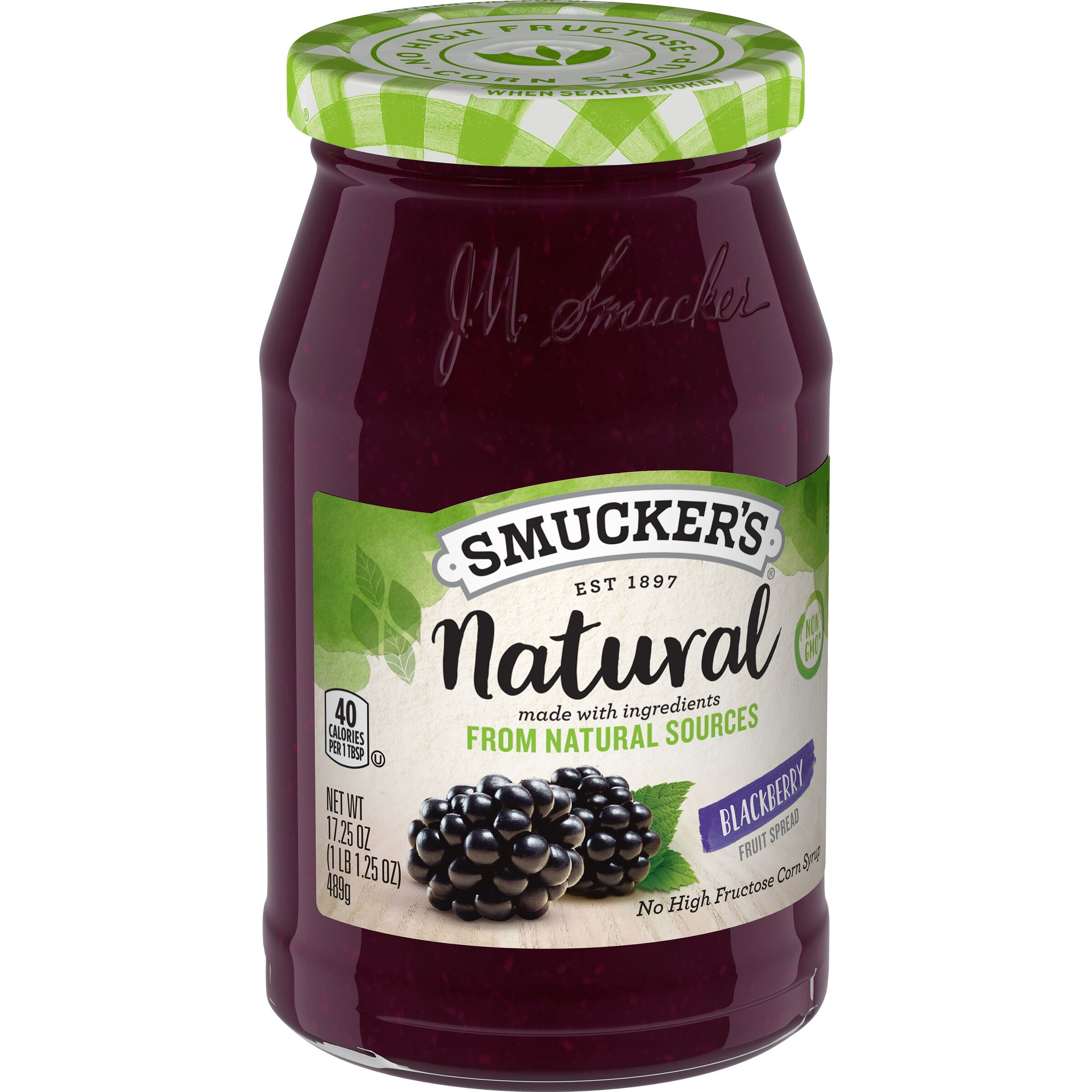 Smucker's<sup>®</sup> Natural Blackberry Fruit Spread