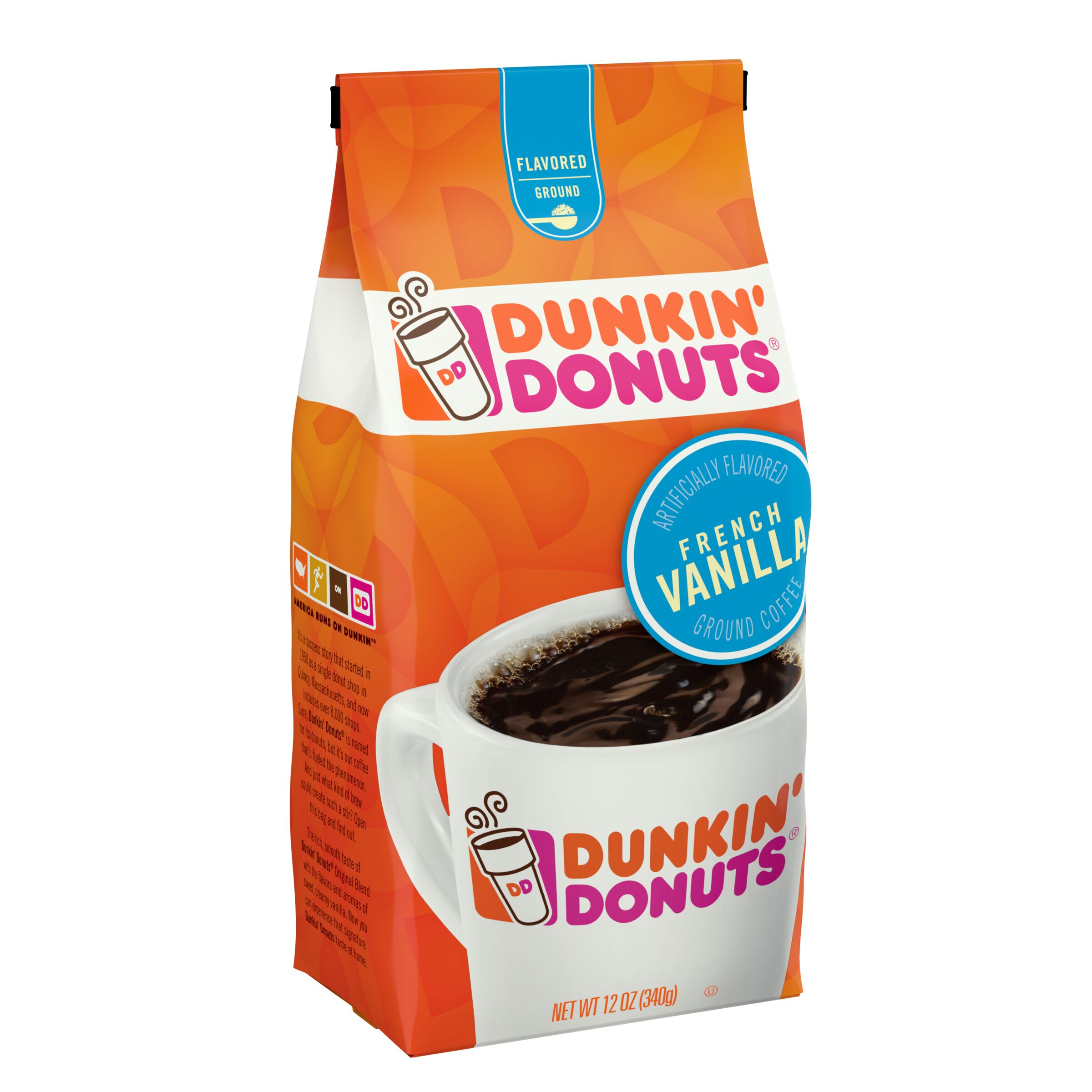 Dunkin' Donuts<sup>®</sup>  French Vanilla Flavored Coffee