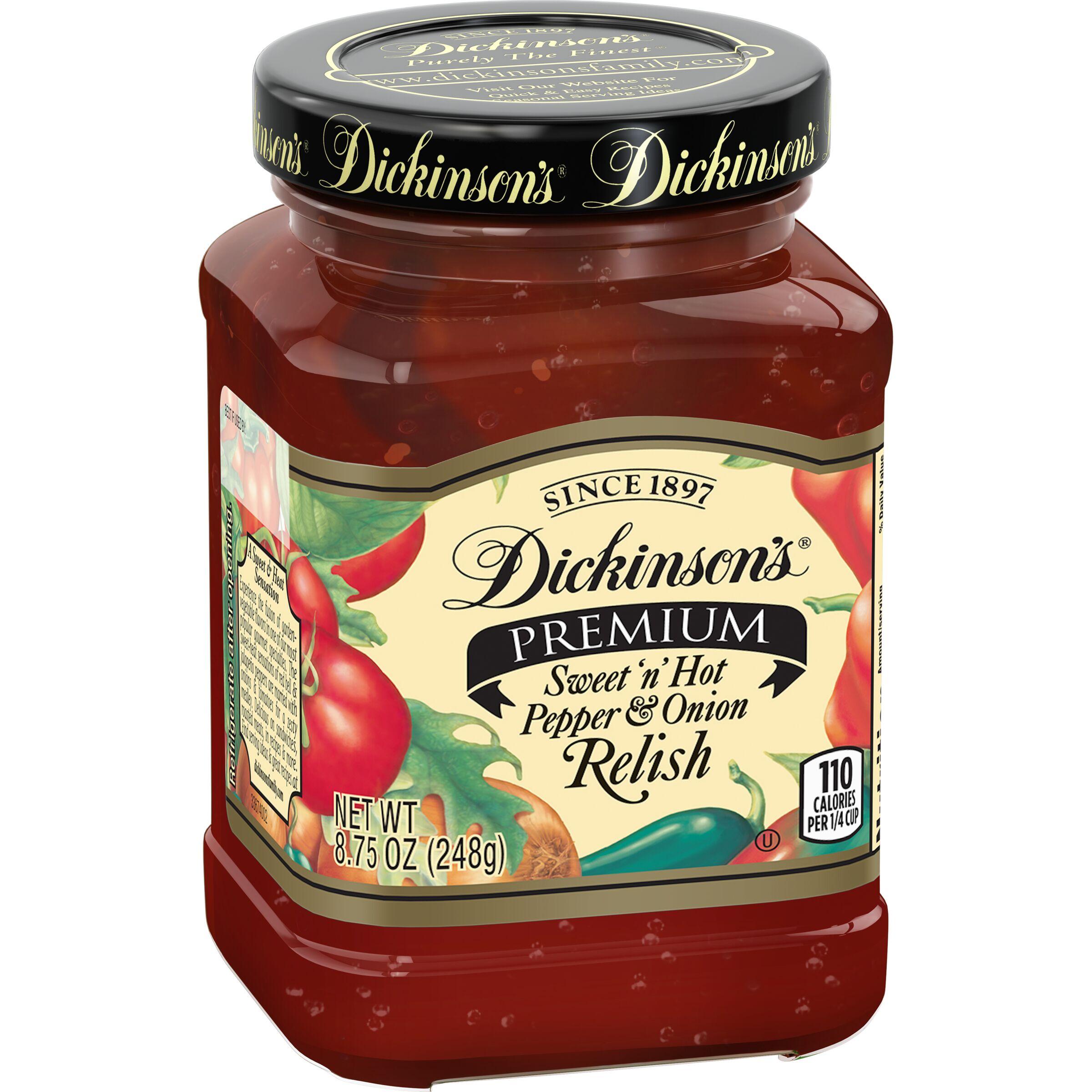 Dickinson's  Pepper & Onion Relish