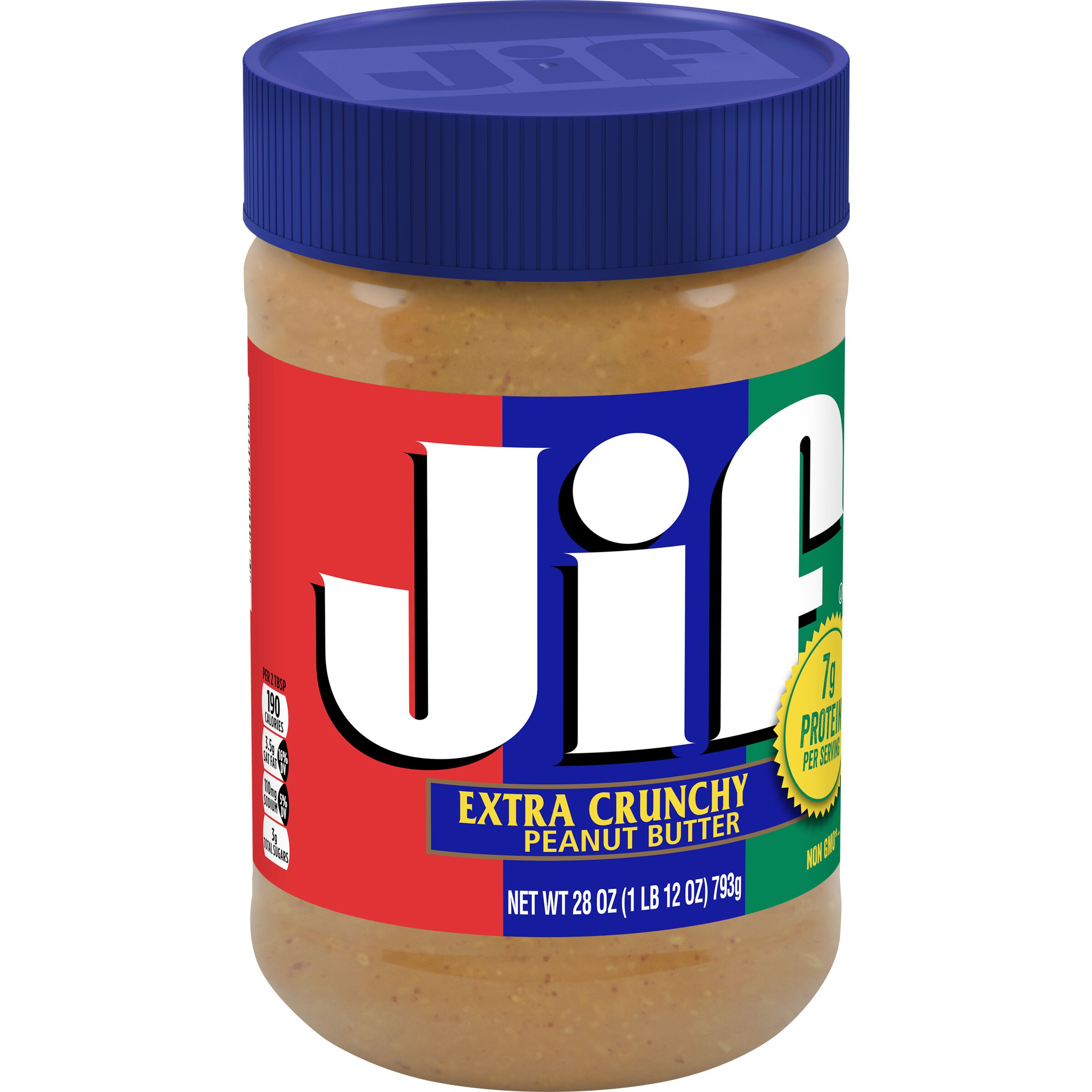 Jif<sup>®</sup>  Extra Crunchy Peanut Butter