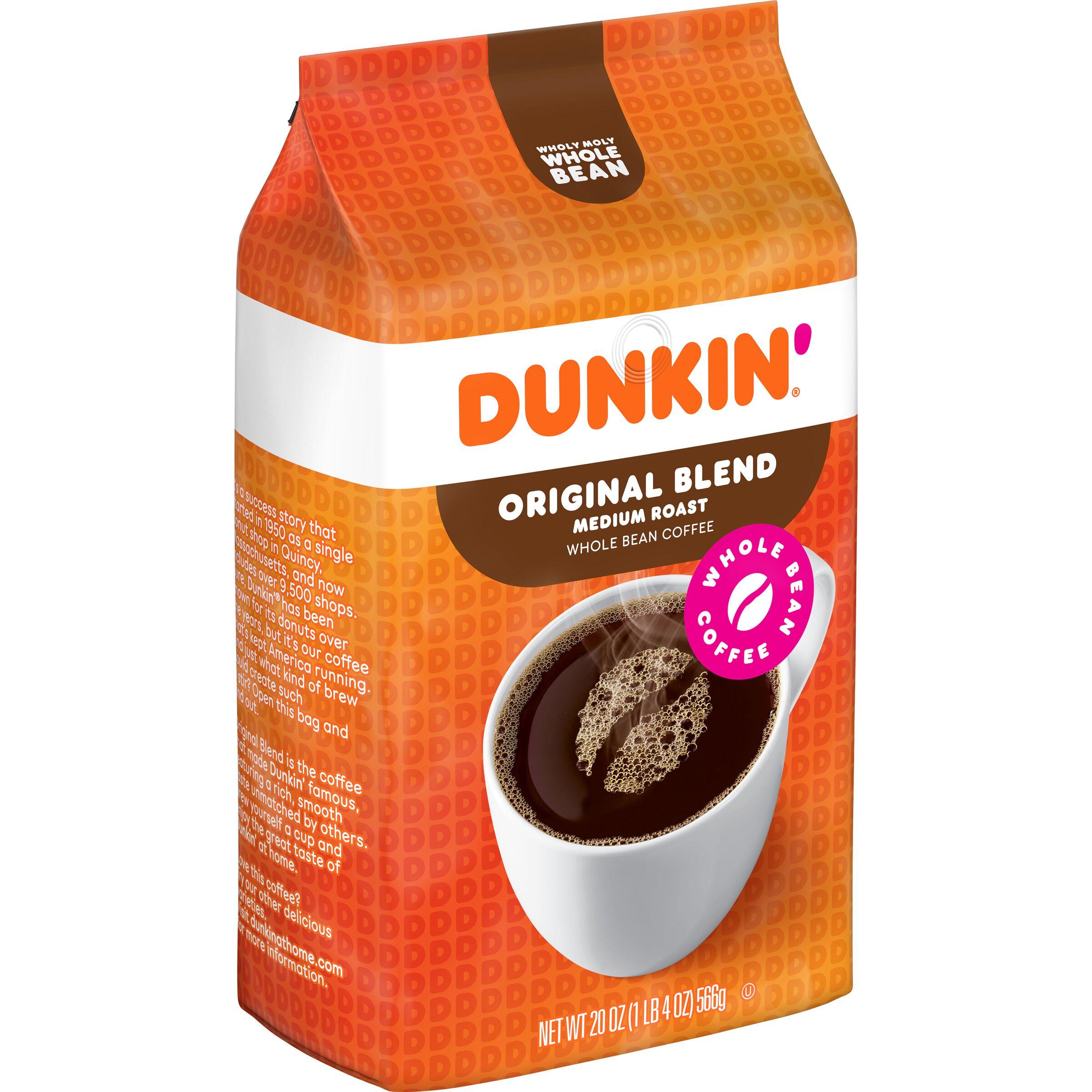 Dunkin'  Original Blend Whole Bean Coffee