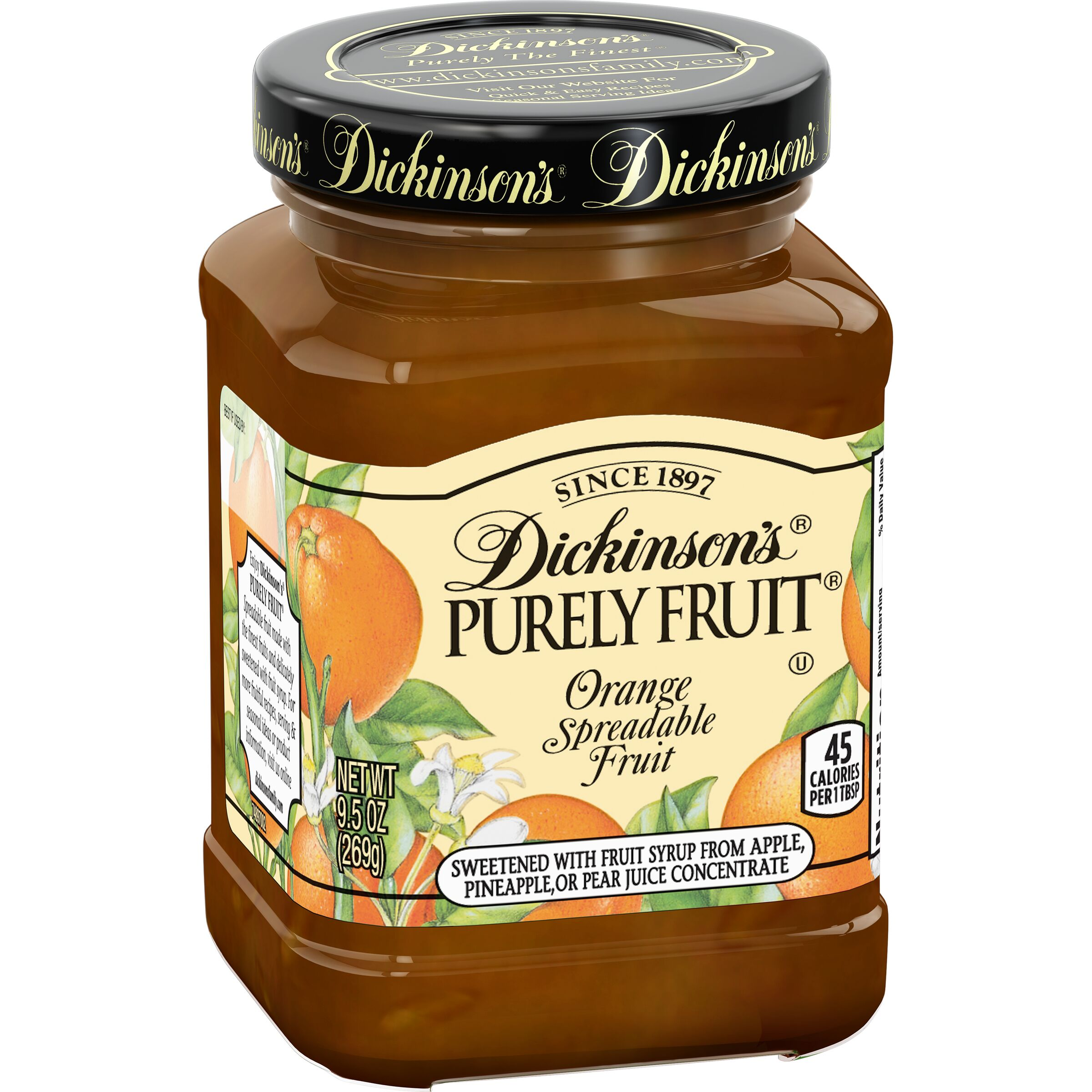 Dickinson's Purely Fruit Orange Spreadable Fruit
