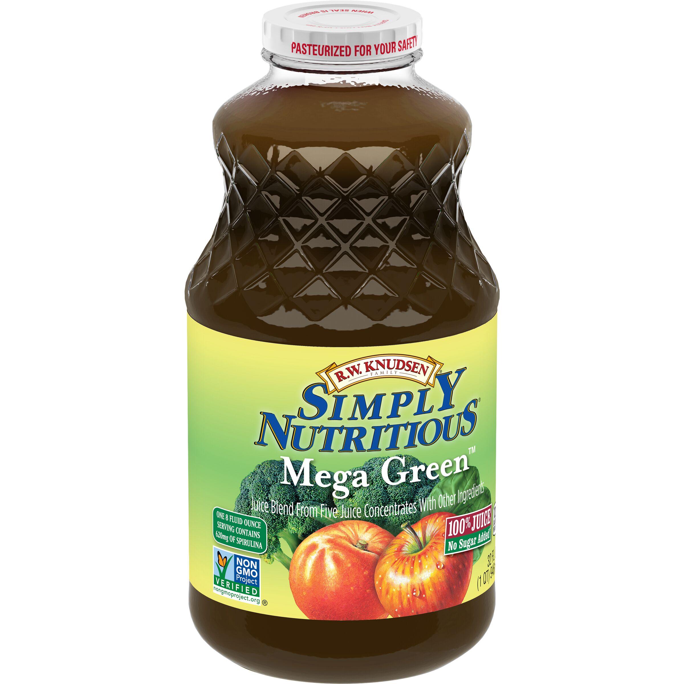 R.W. Knudsen Family Simply Nutritious Mega Green Juice Blend