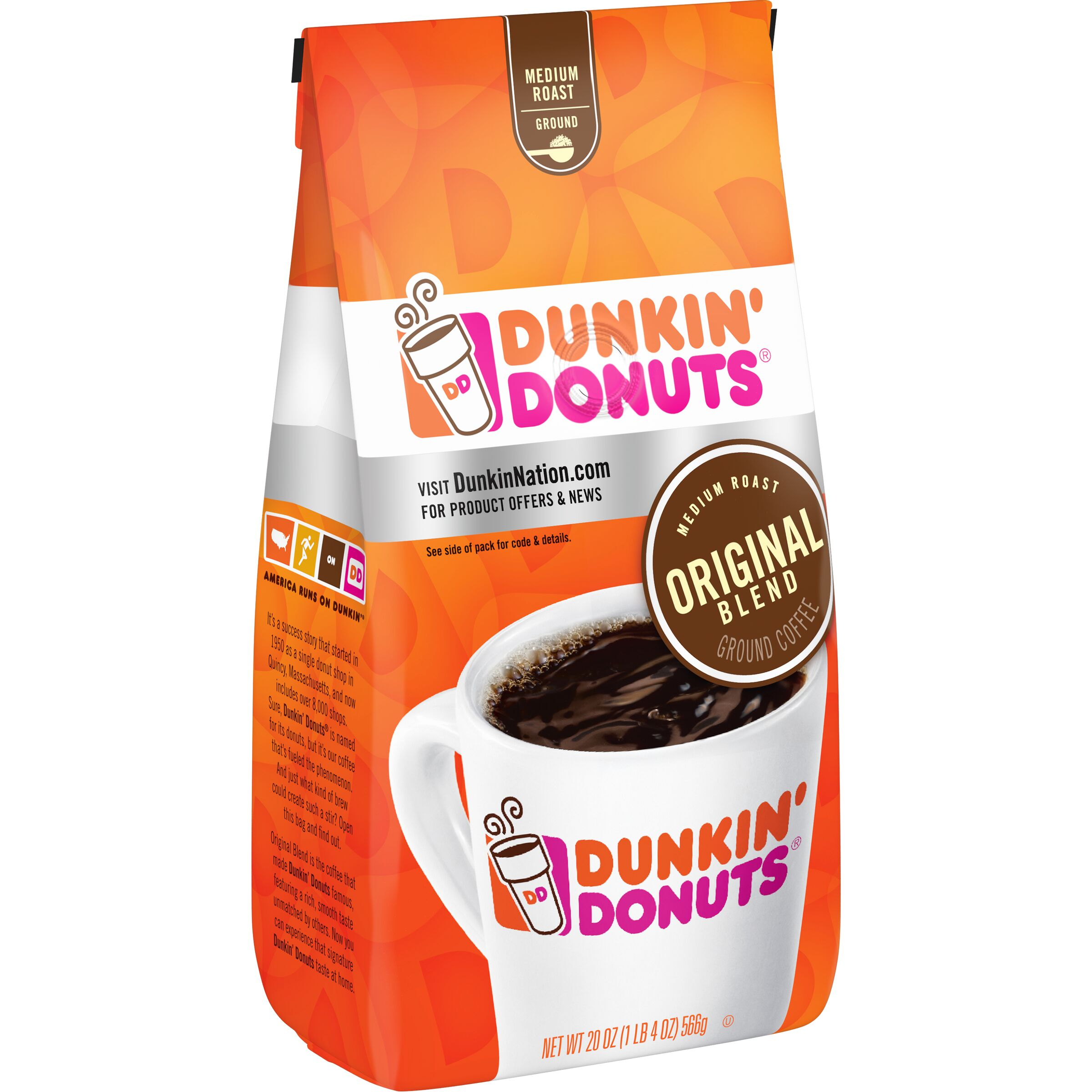 Dunkin' Donuts<sup>®</sup>  Original Blend Coffee
