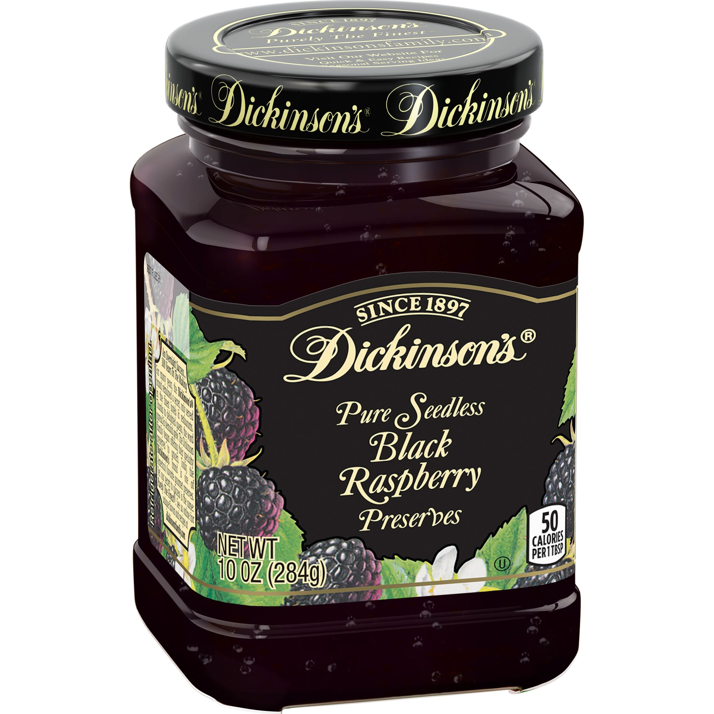 Dickinson's  Seedless Black Raspberry Preserves