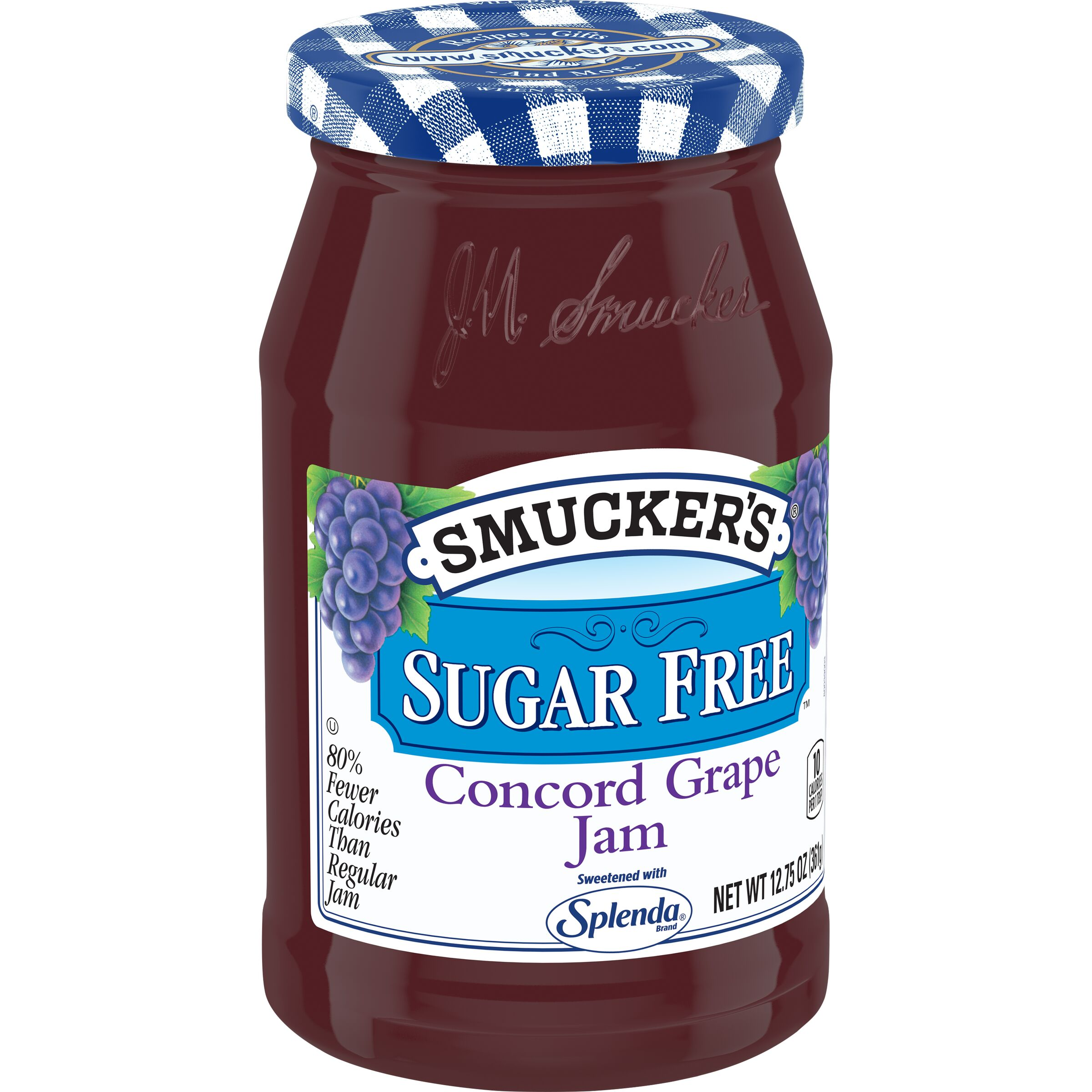 Smucker's SUGAR FREE Grape Jam with Splenda Brand Sweetener