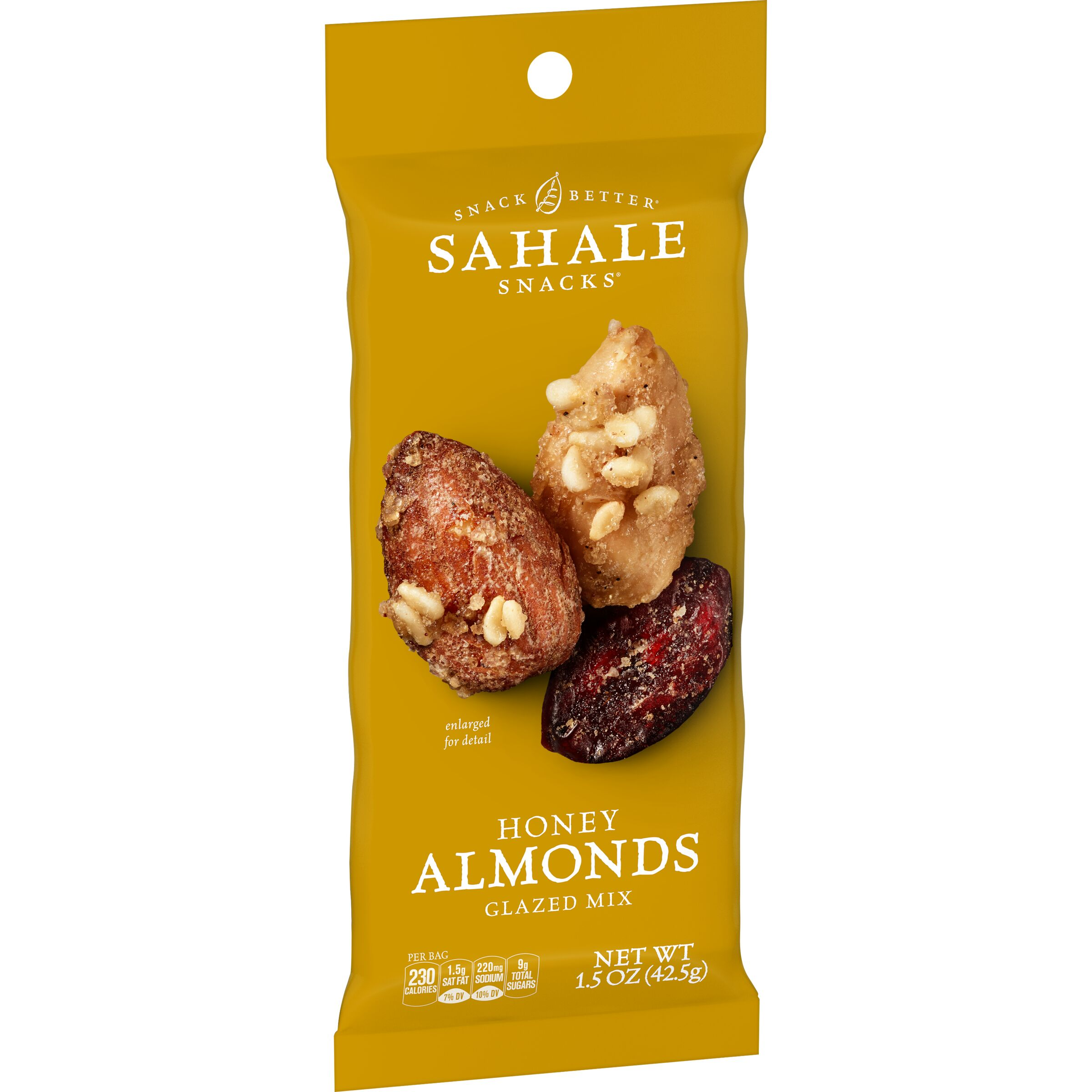 Sahale Snacks  Grab & Go Honey Almonds Glazed Mix