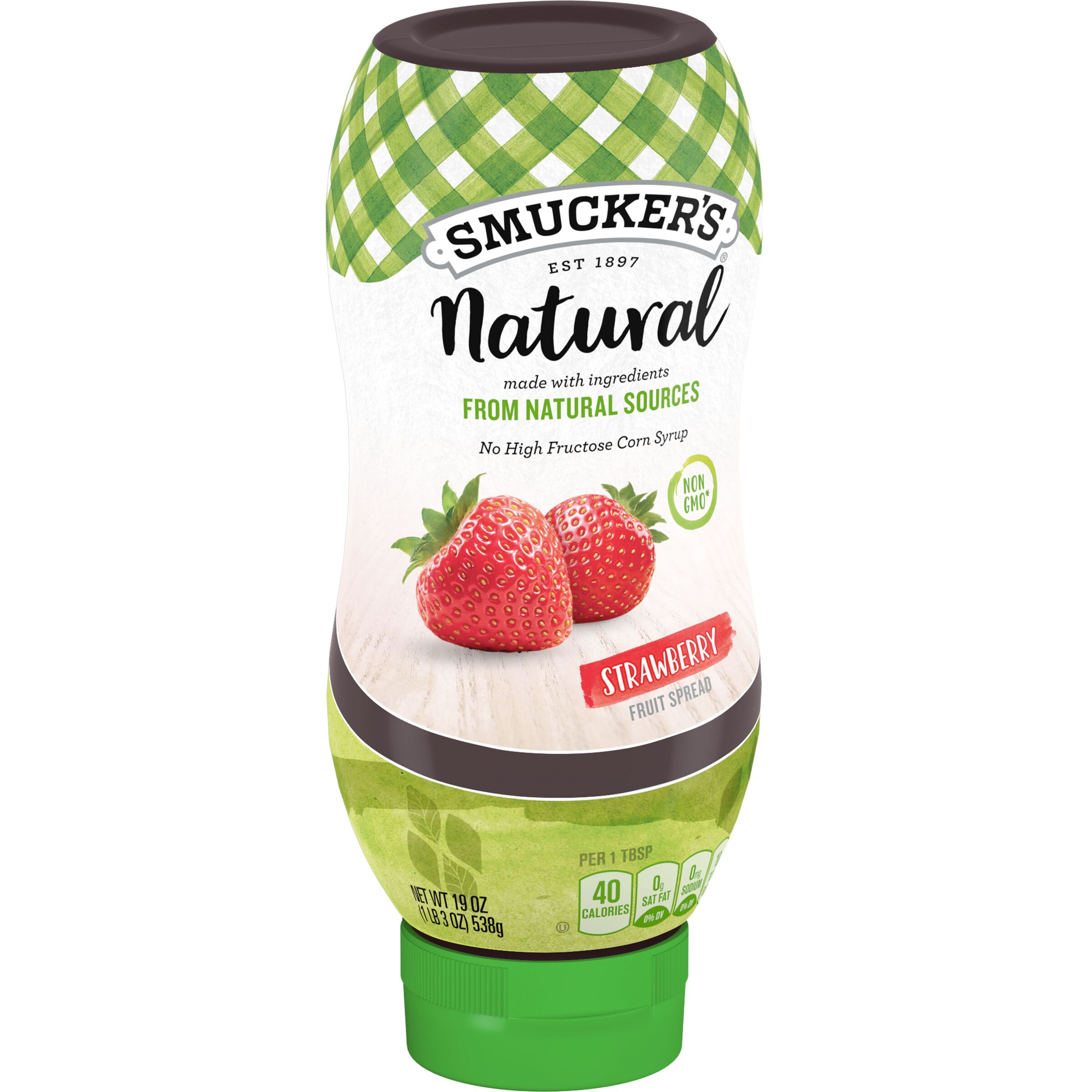 Smucker's Natural Squeeze Strawberry Fruit Spread