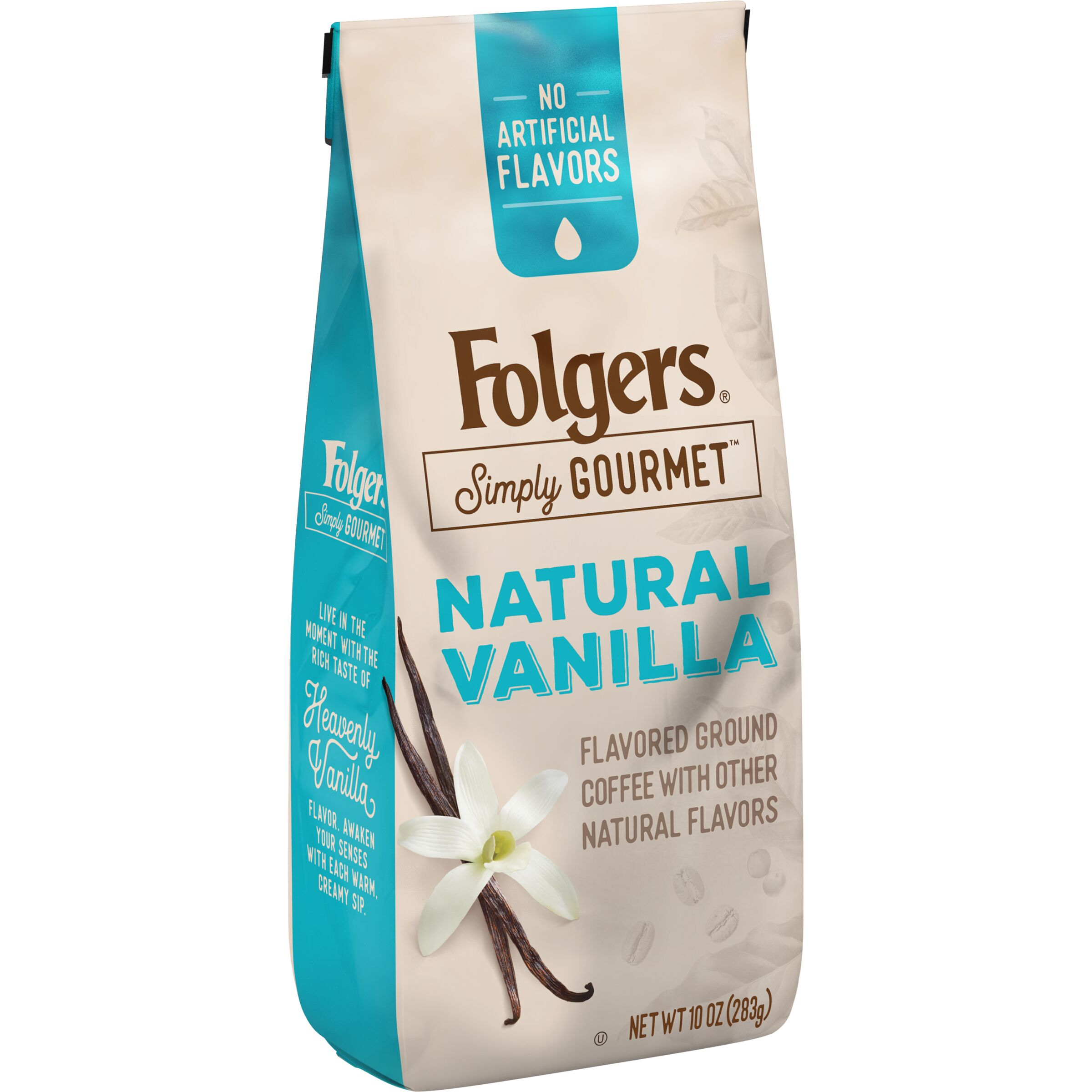 Folgers Simply Gourmet Natural Vanilla Flavored Ground Coffee