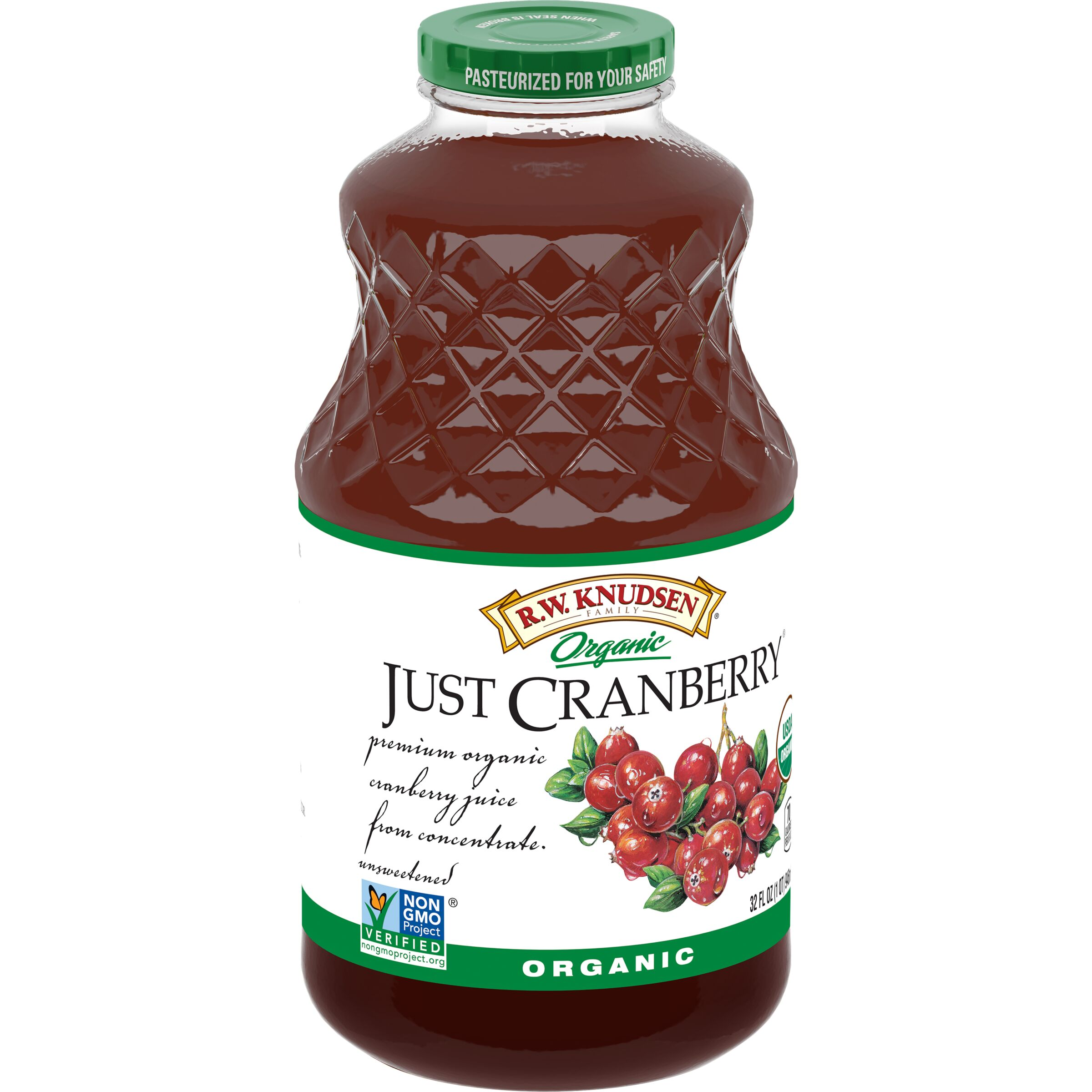 R.W. Knudsen Family  Organic Just Cranberry™ Juice