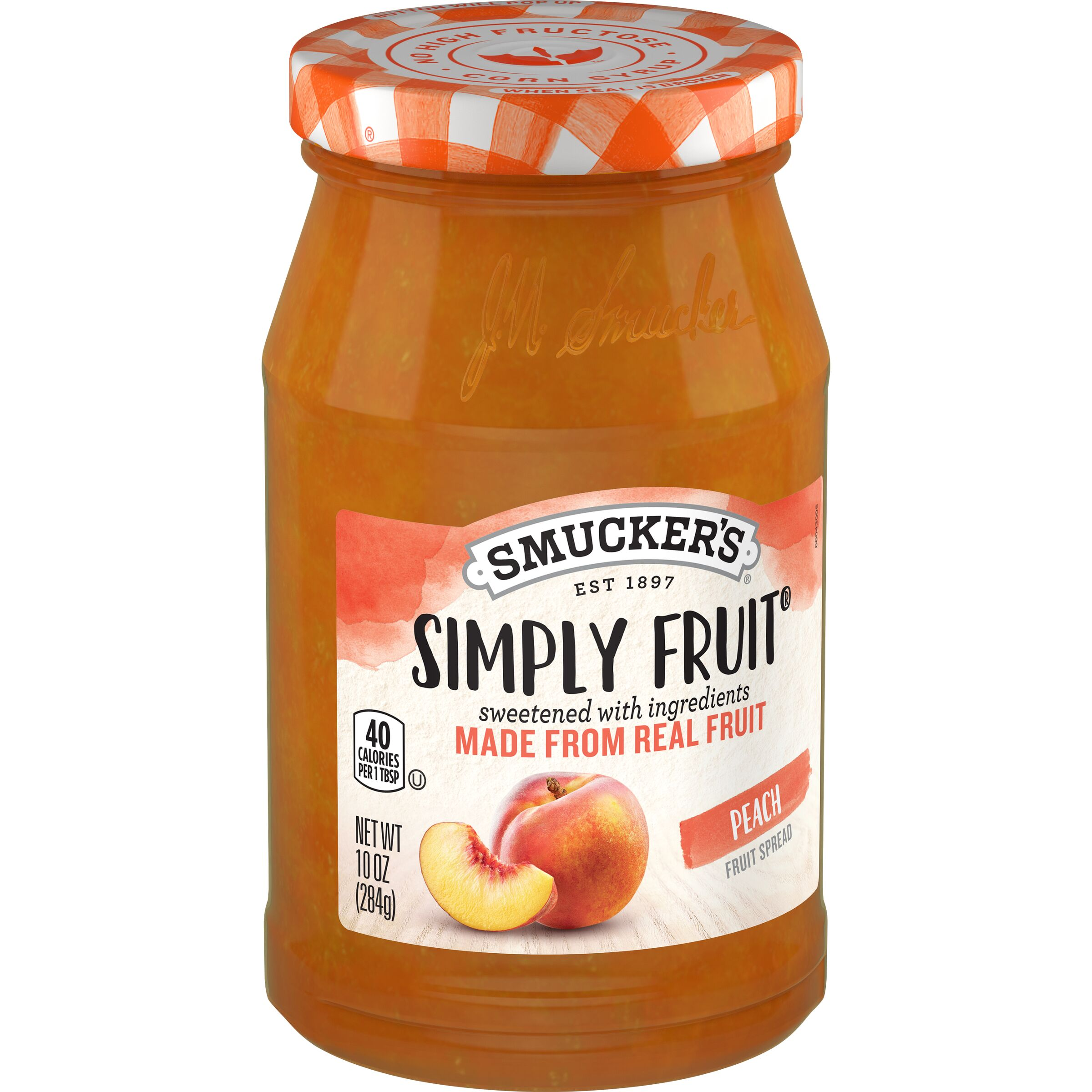 Smucker's Simply Fruit Peach Spreadable Fruit