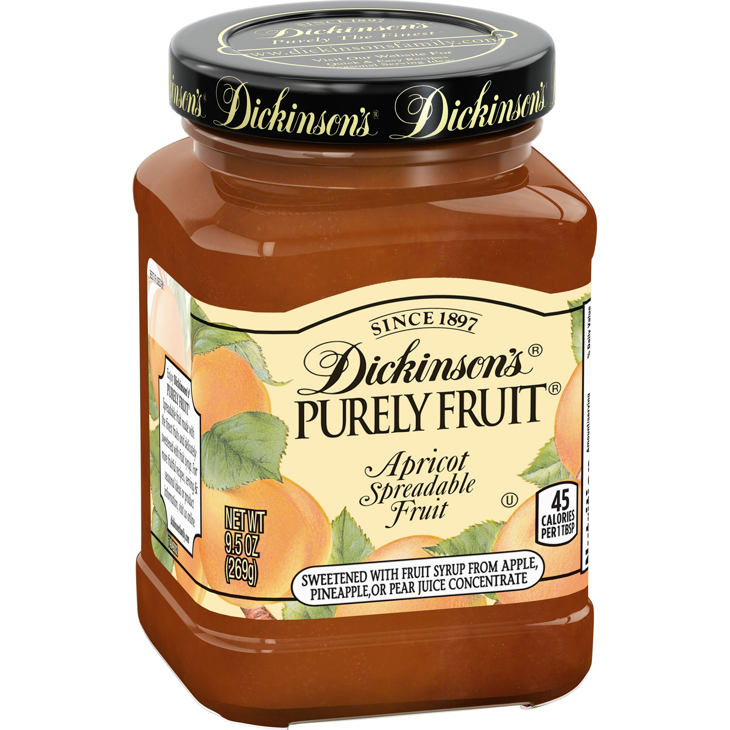 Dickinson's<sup>®</sup> Purely Fruit Apricot Spreadable Fruit