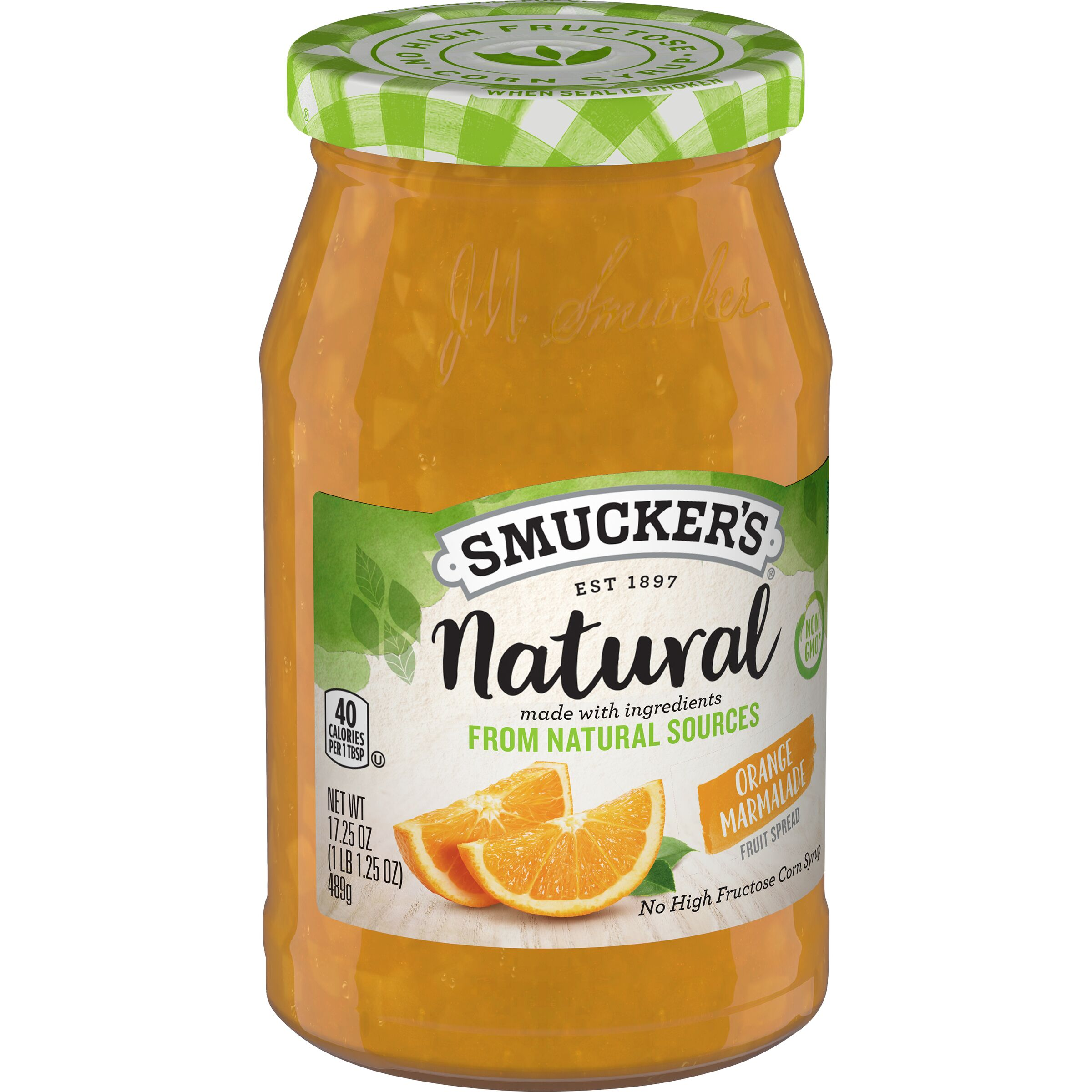 Smucker's Natural Orange Maramalade Fruit Spread
