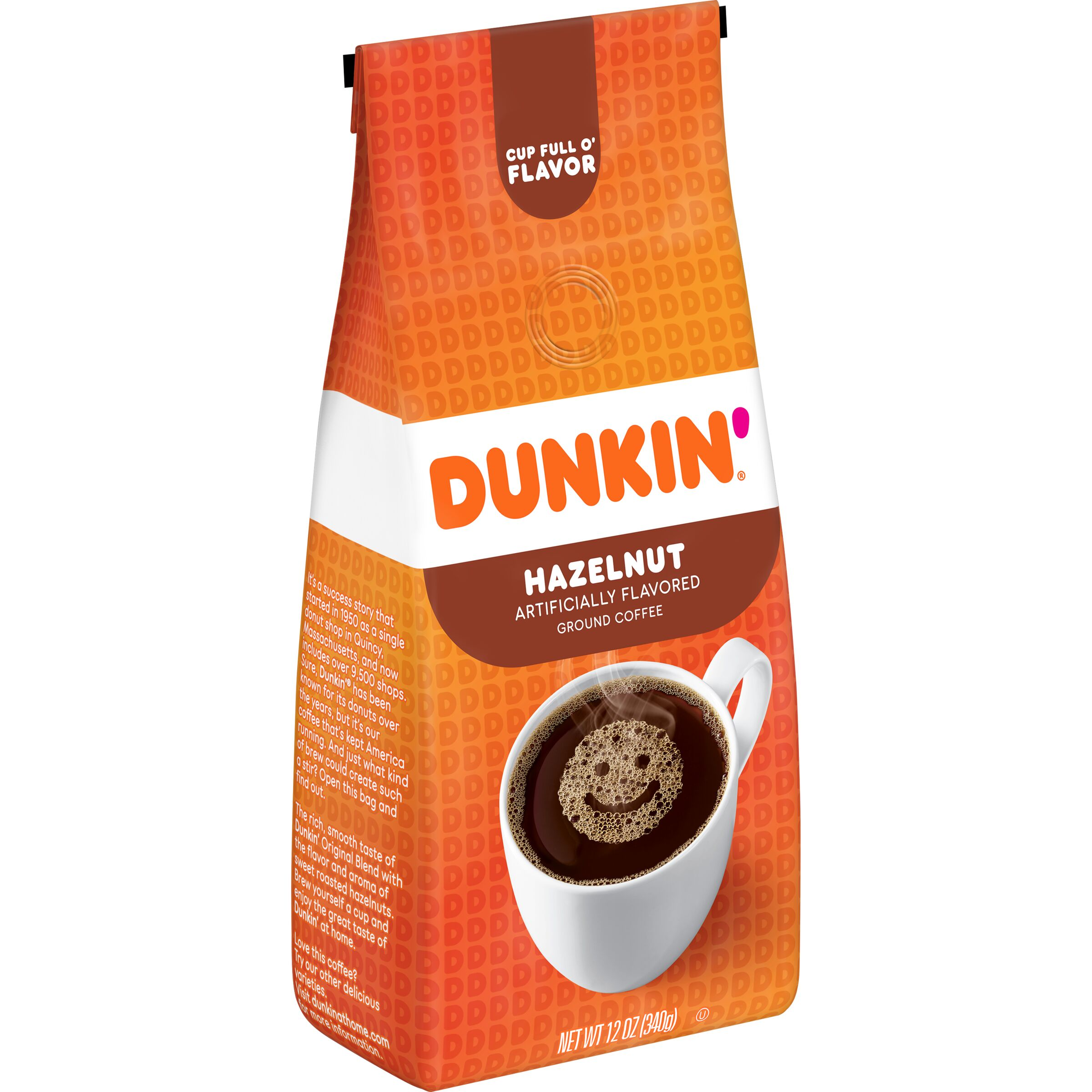 Dunkin'  Hazelnut Flavored Coffee
