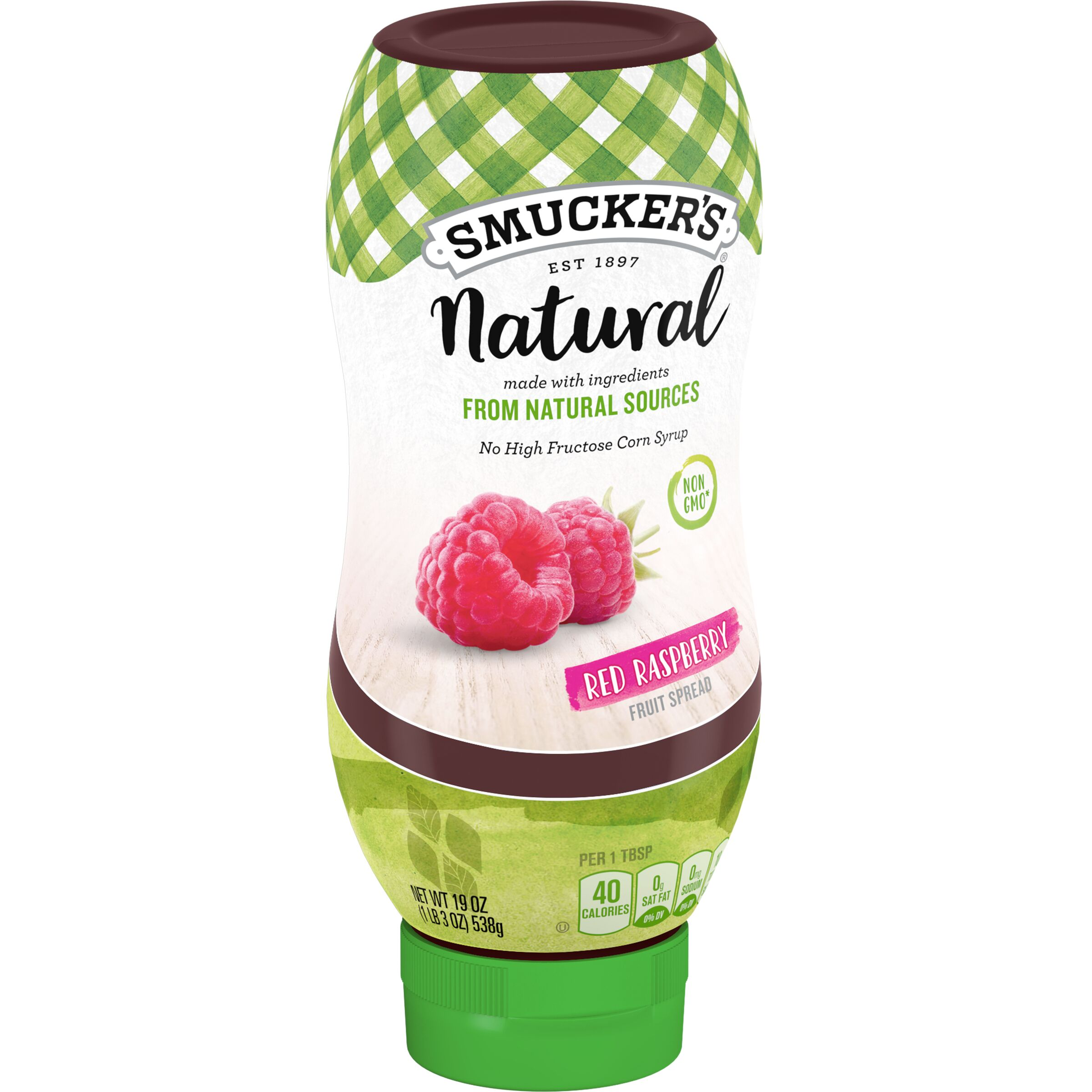 Smucker's Natural Squeeze Red Raspberry Fruit Spread