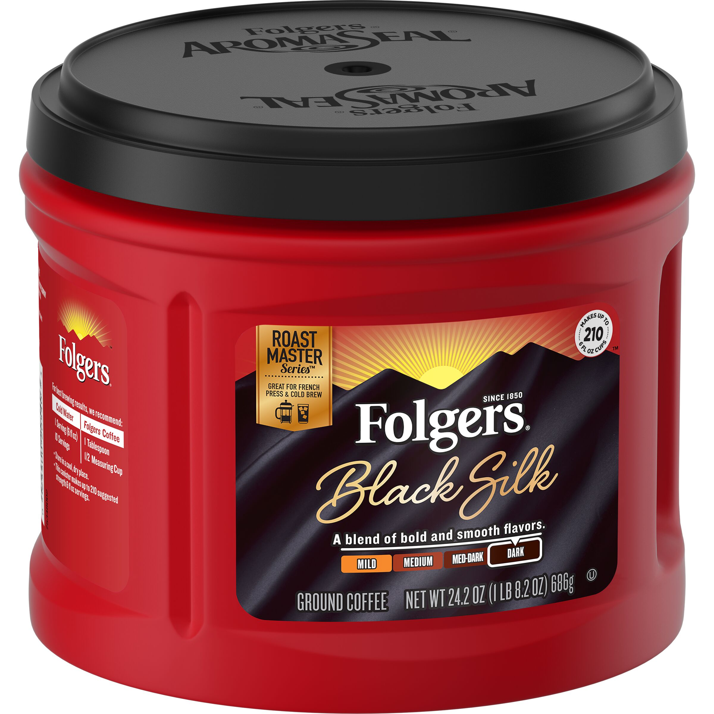 Folgers<sup>®</sup>  Black Silk Coffee