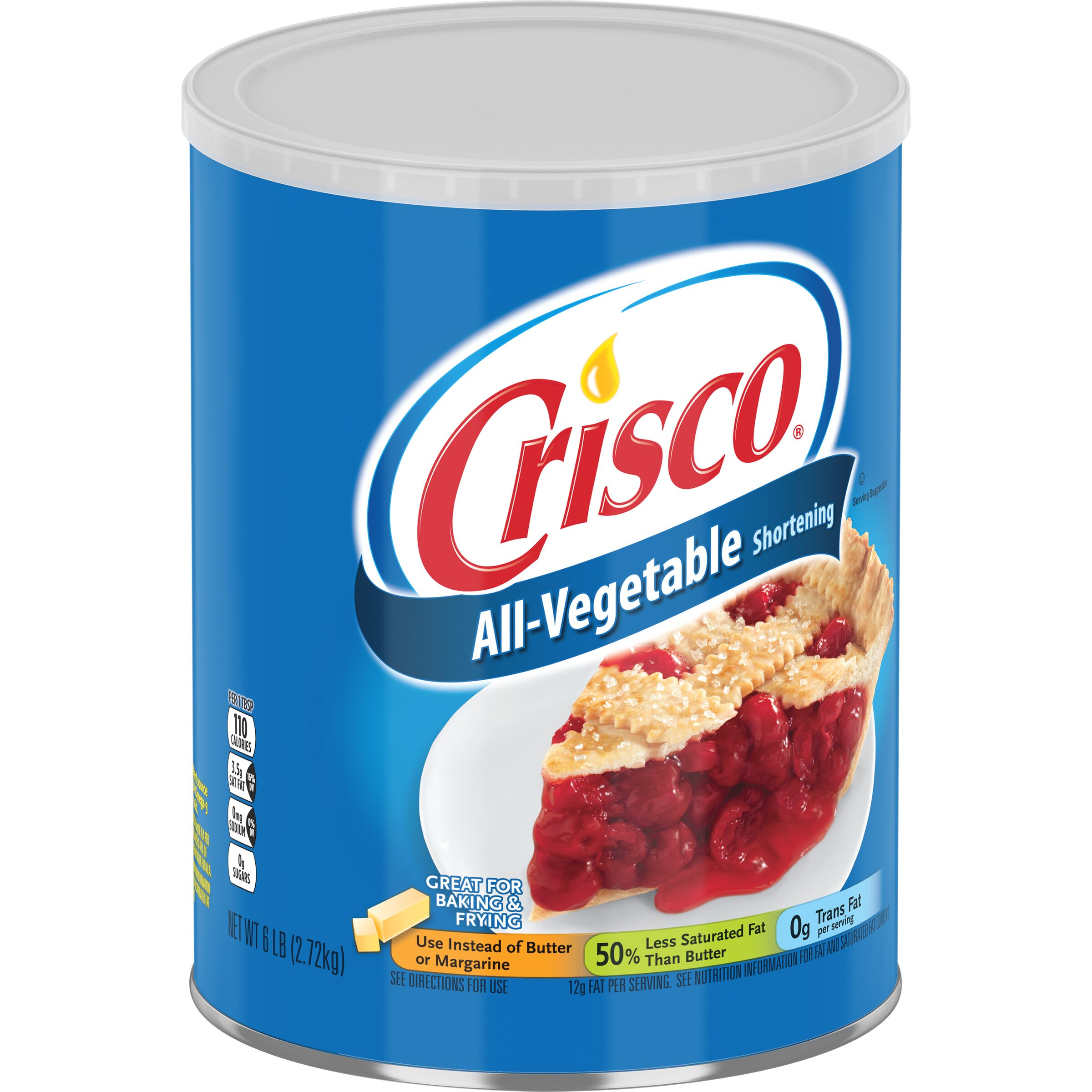 Crisco<sup>®</sup>  All-Vegetable Shortening