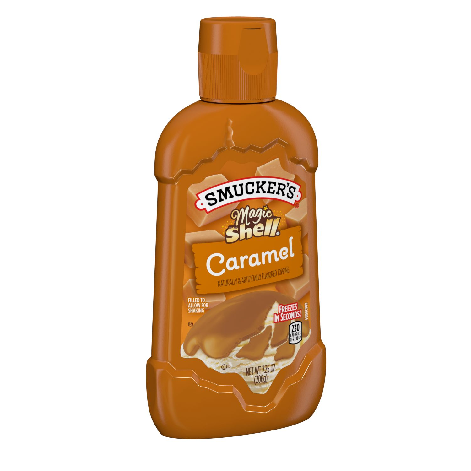 Smucker's<sup>&reg;</sup> Magic Shell Caramel Topping