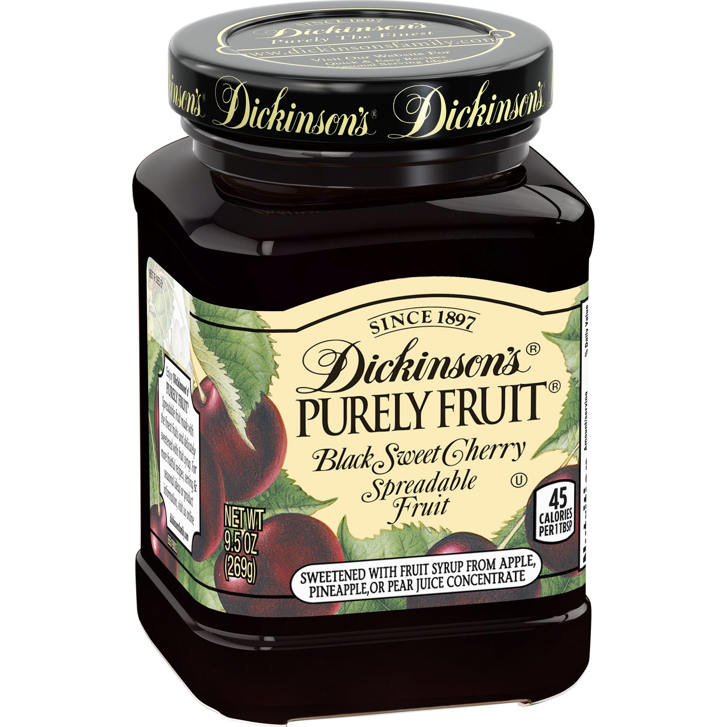 Dickinson's Purely Fruit Black Sweet Cherry Spreadable Fruit