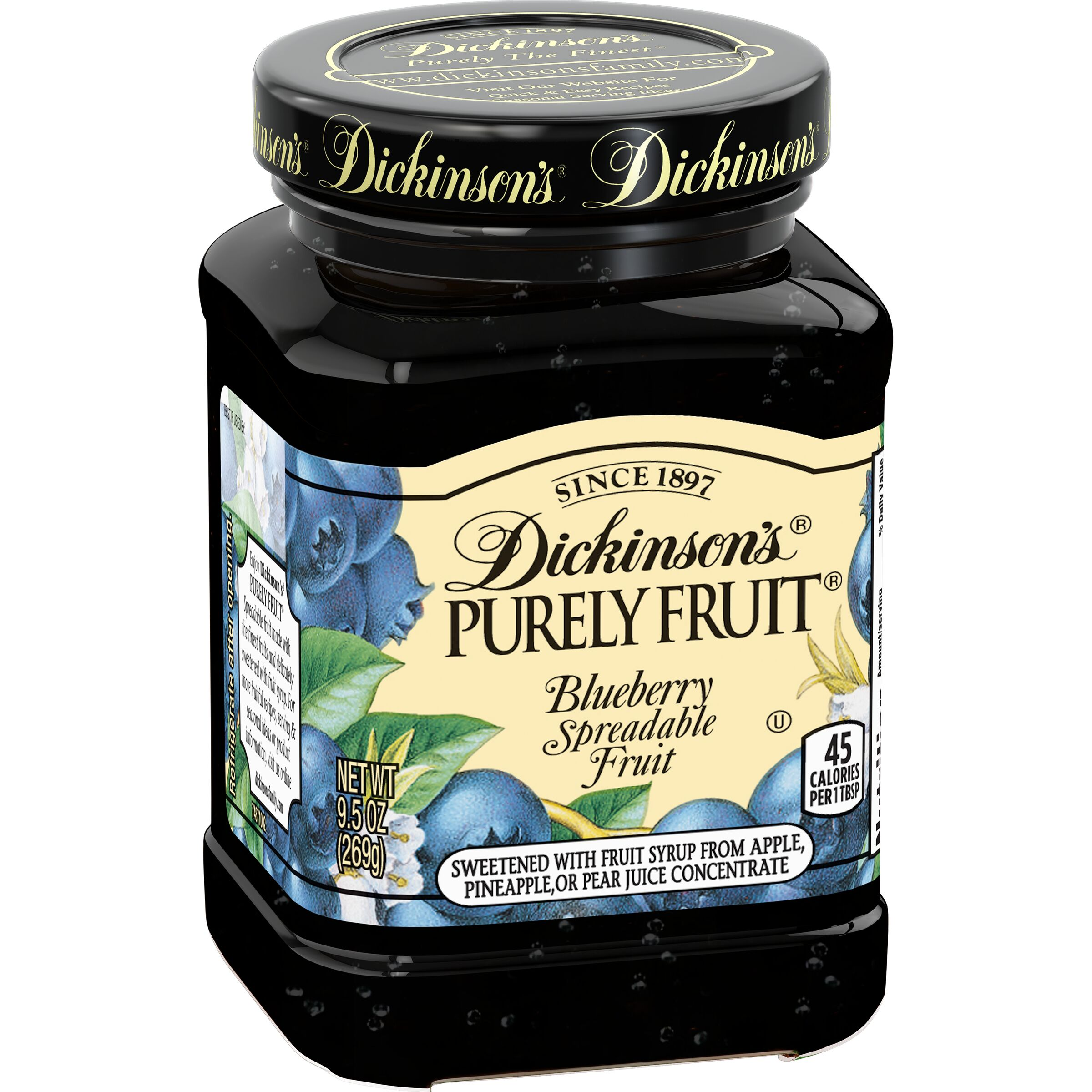 Dickinson's Purely Fruit Blueberry Spreadable Fruit