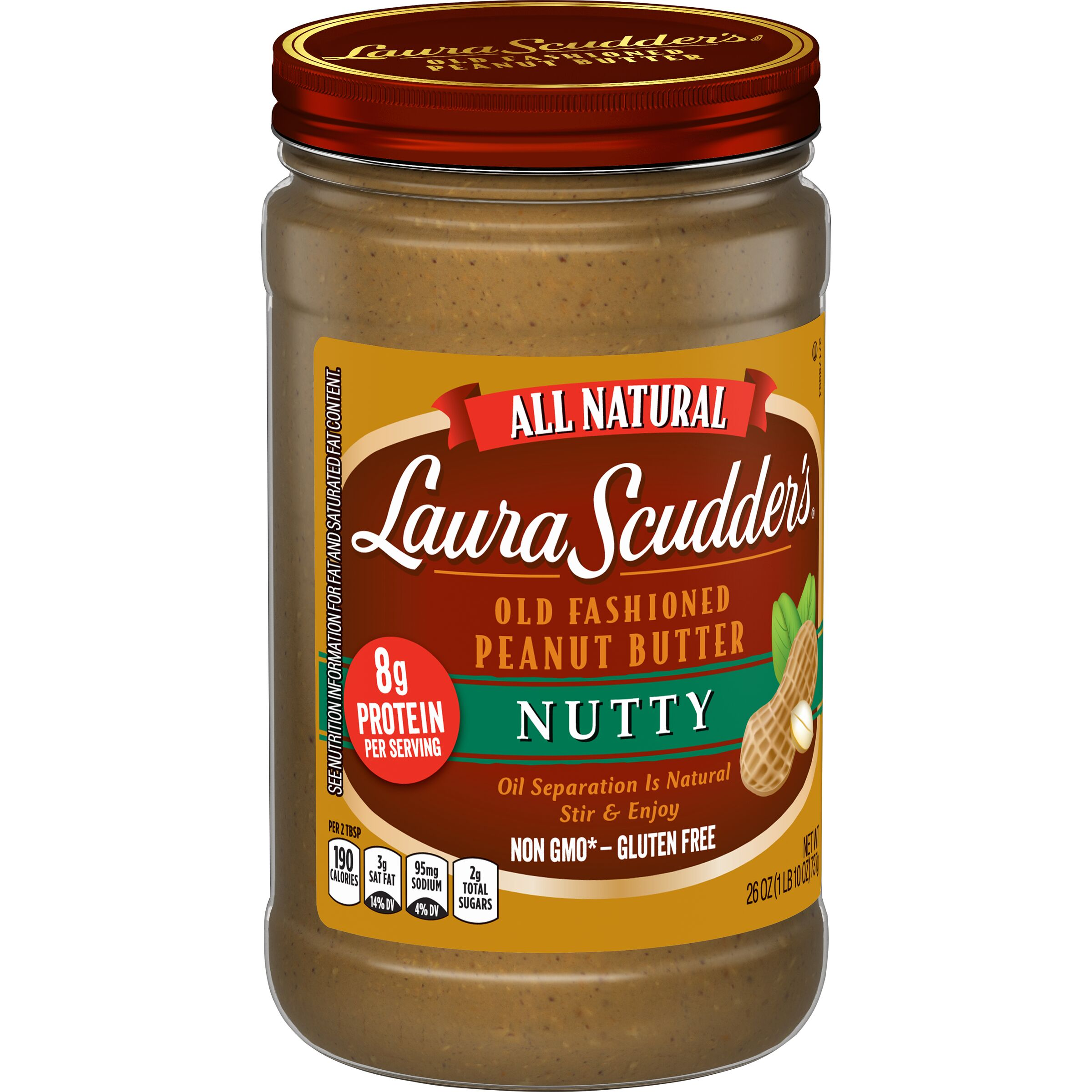 Laura Scudder's  Natural Nutty Peanut Butter