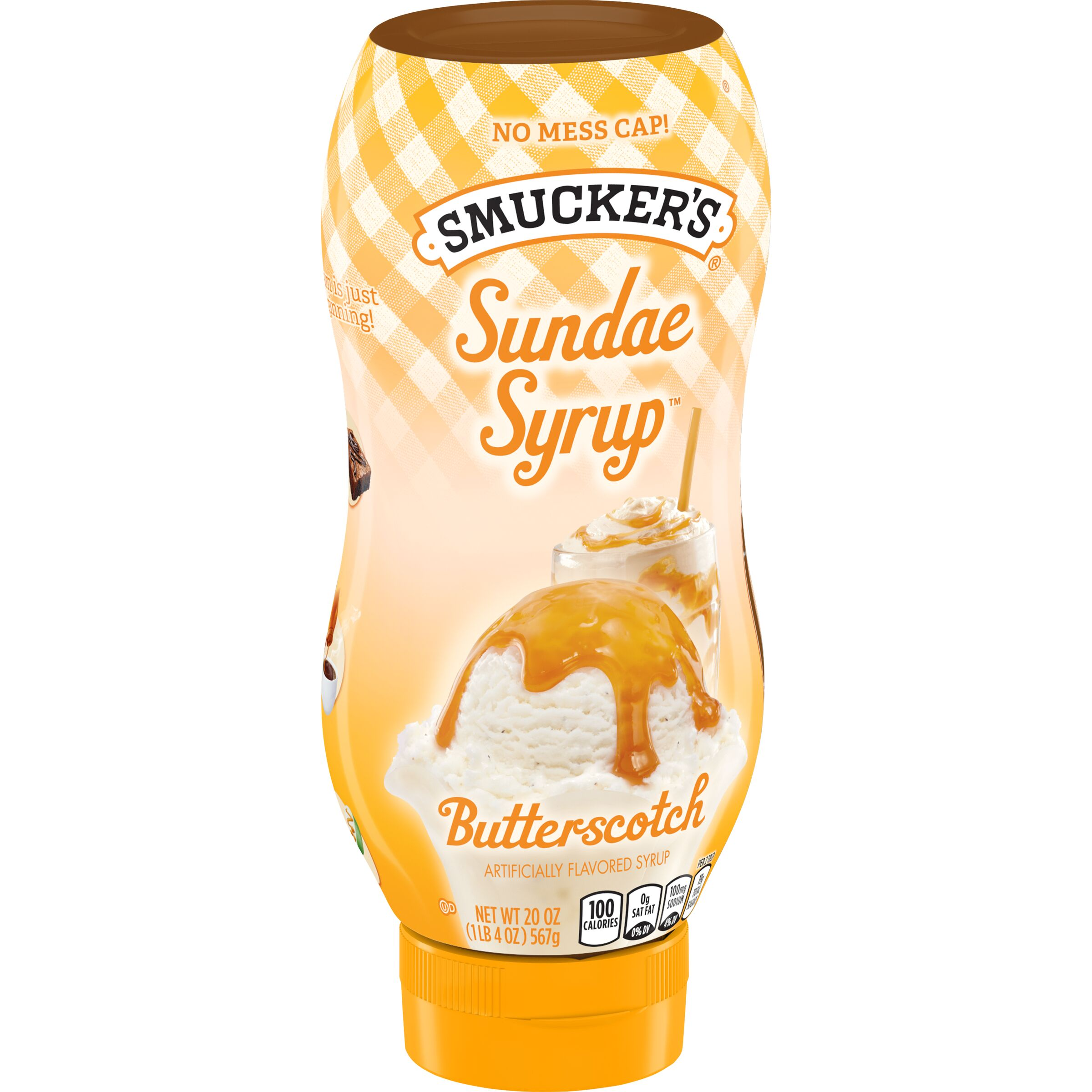 Smucker's Sundae Syrup - Butterscotch
