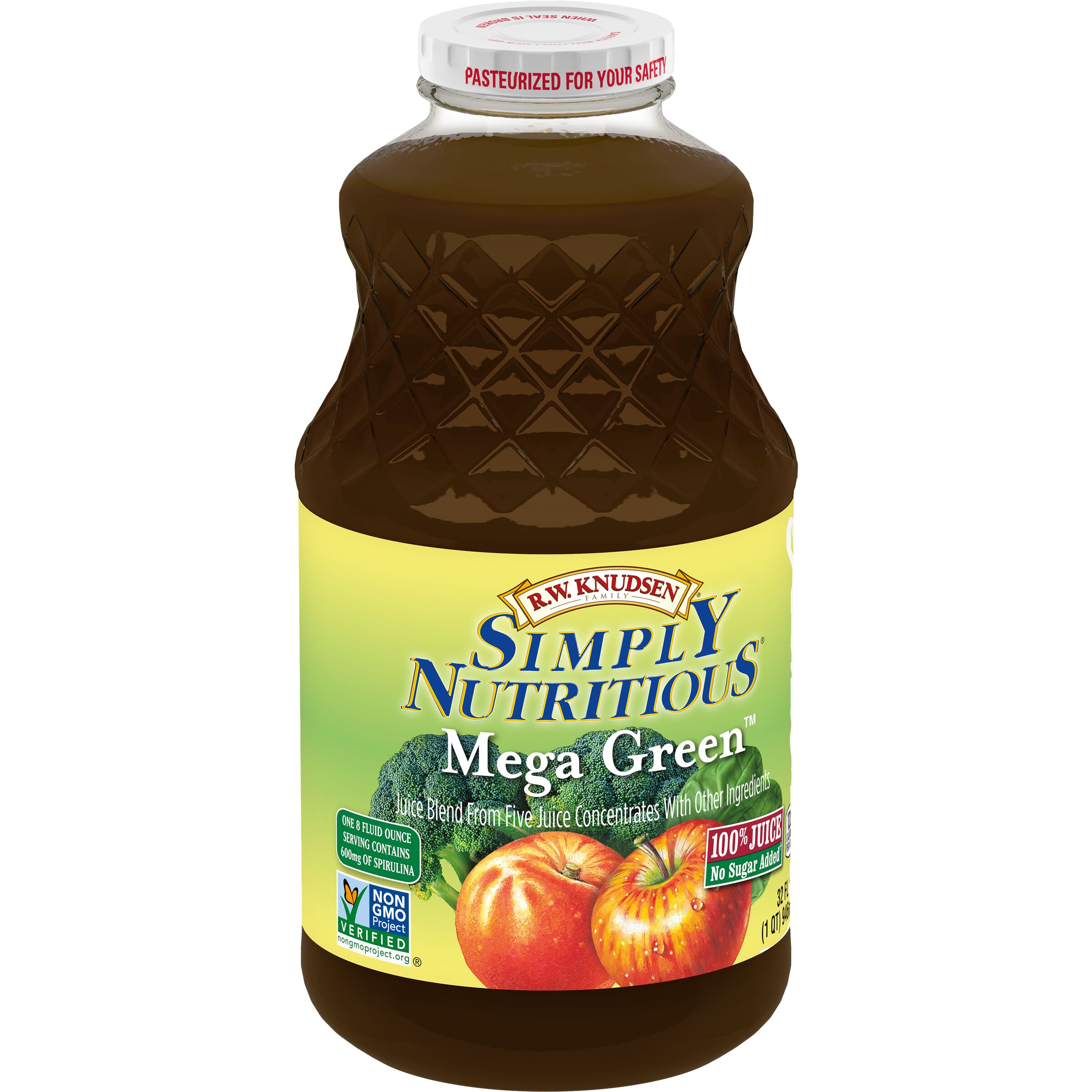 R.W. Knudsen Family Simply Nutritious Mega Green Juice Blend