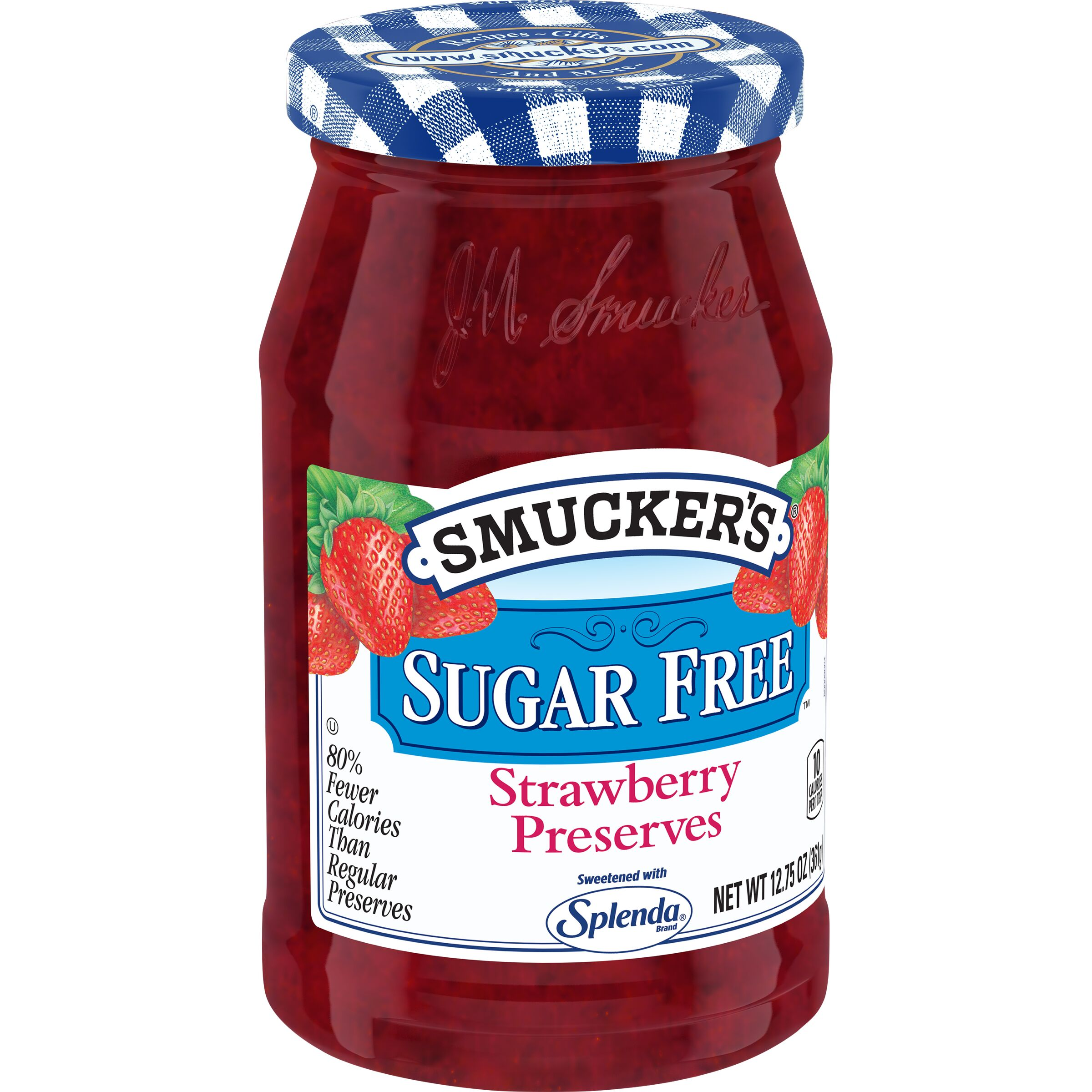 Smucker's SUGAR FREE Strawberry Preserves with Splenda Brand Sweetener