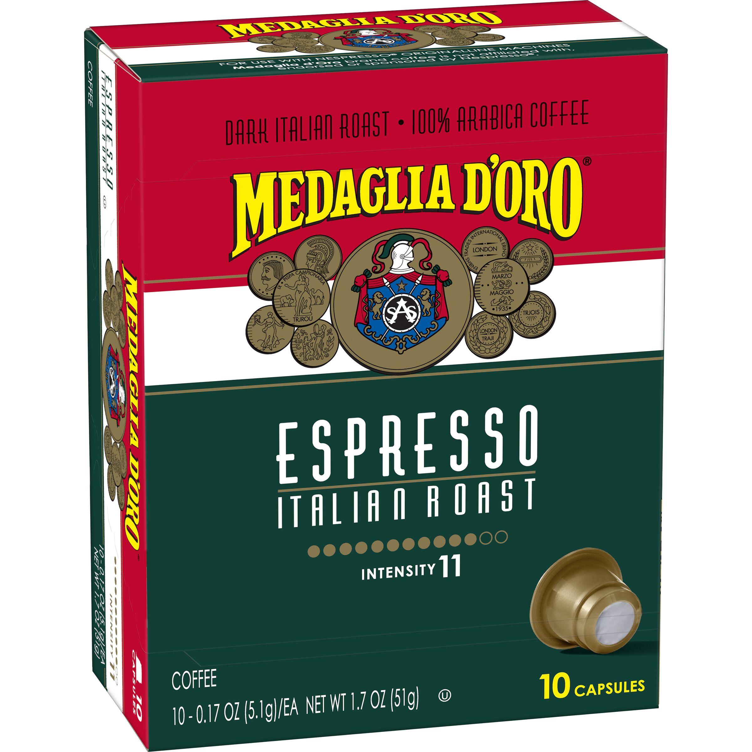 Medaglia d'Oro  Medaglia d'Oro Espresso Capsules, 10 ct.