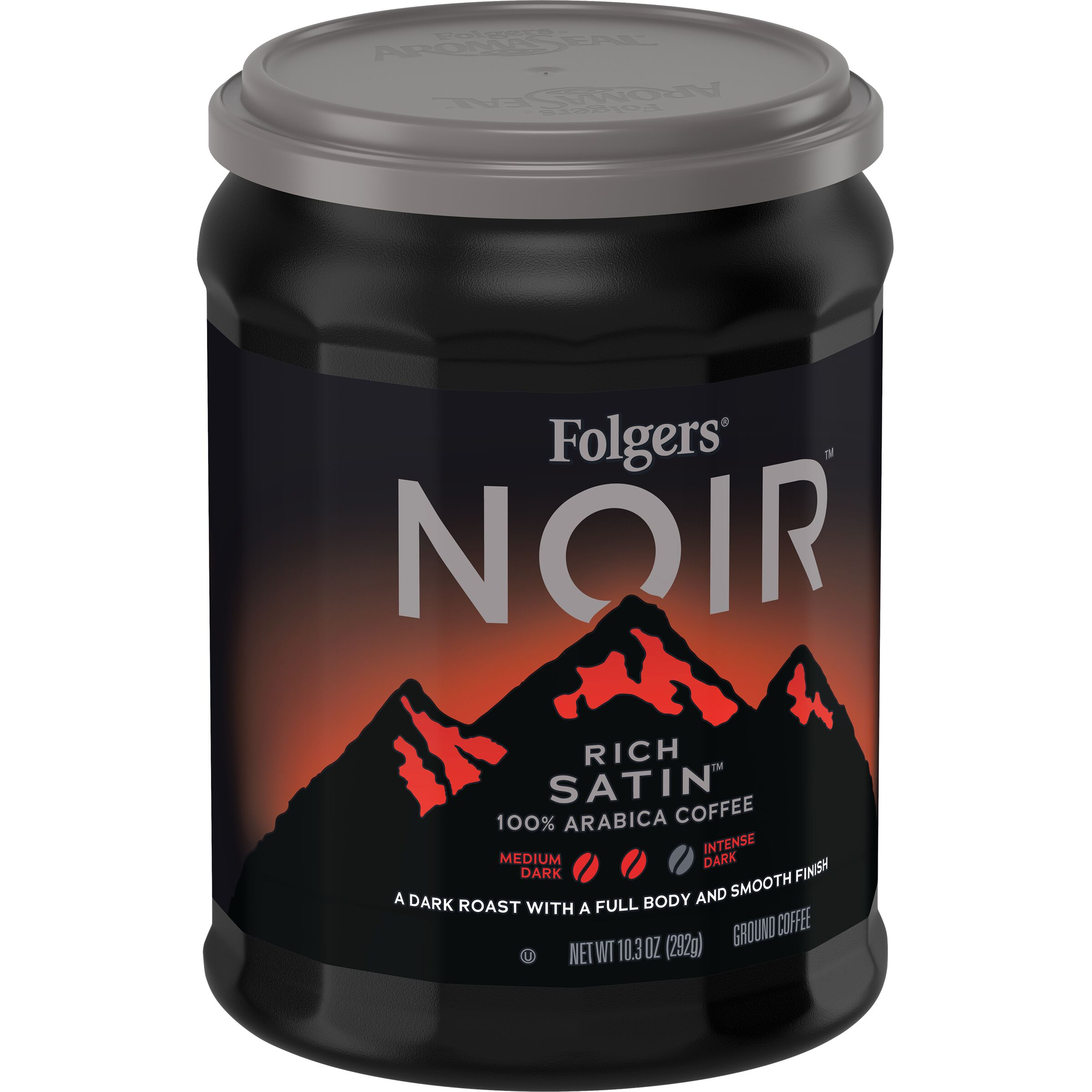 Folgers Noir Rich Satin™ Ground Coffee