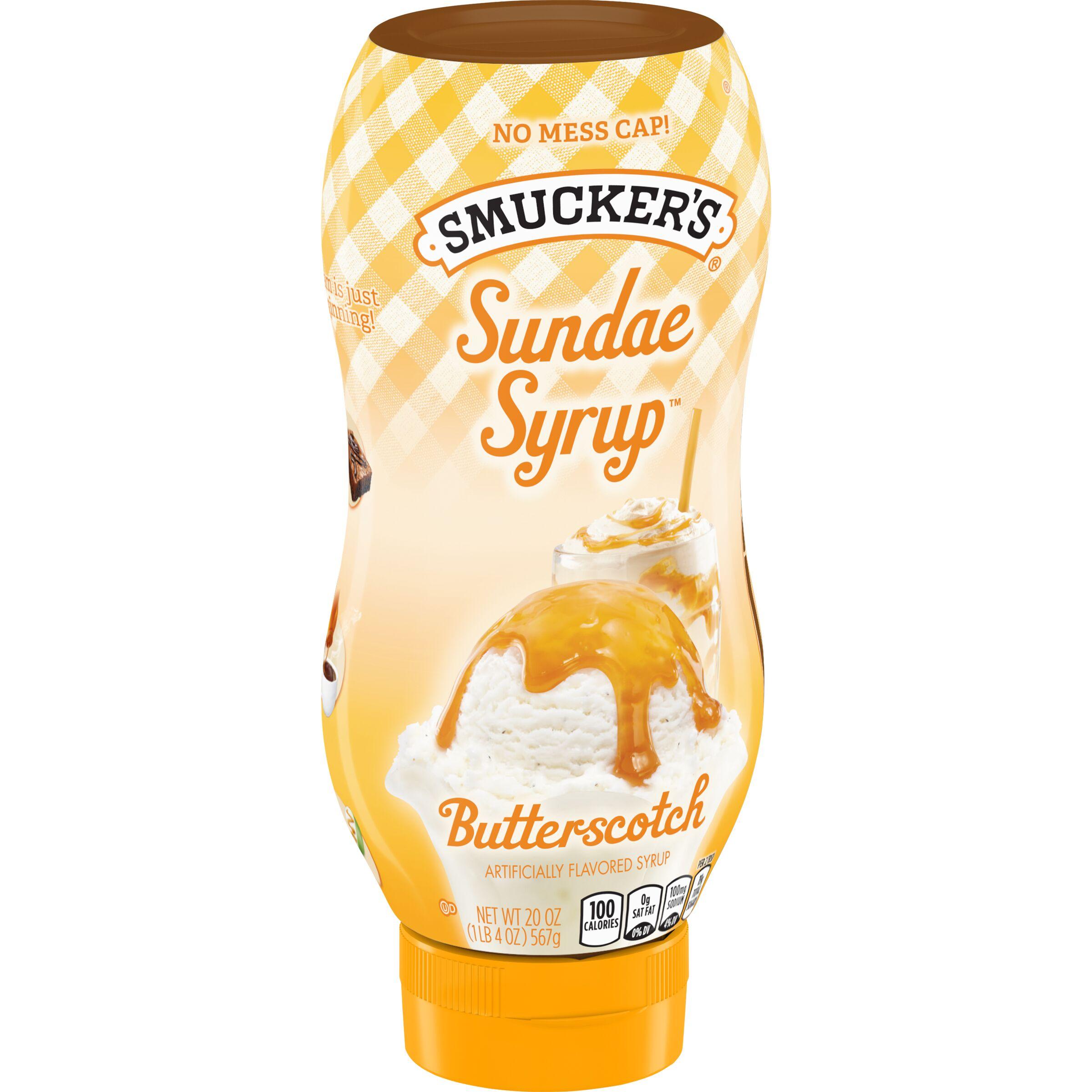 Smucker's Sundae Syrup - Butterscotch