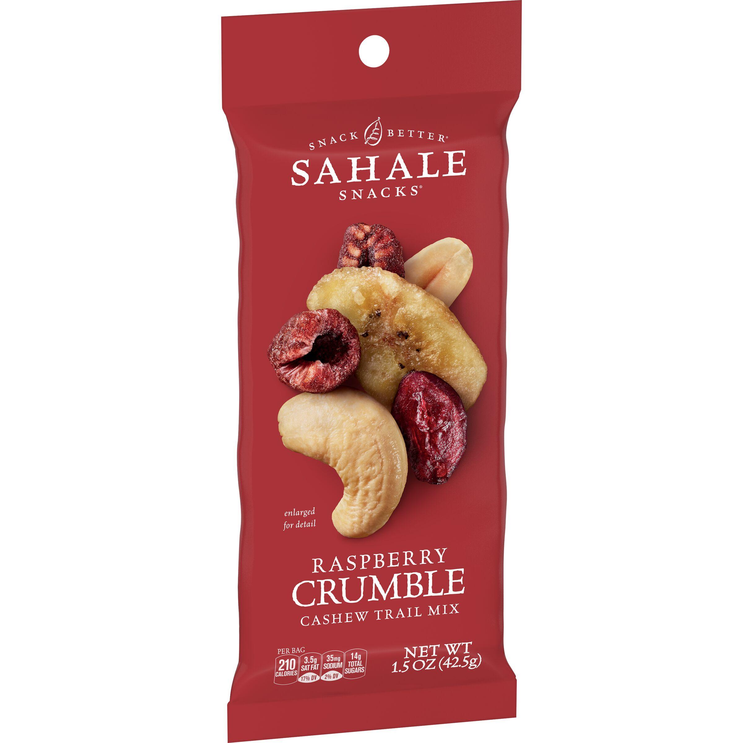 Sahale Snacks  Grab & Go Raspberry Crumble Cashew Trail Mix