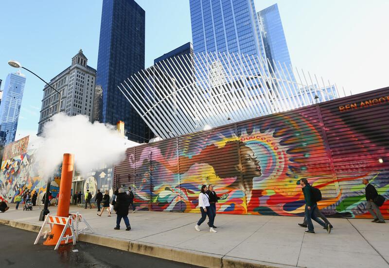 2 WTC壁画艺术和Oculus